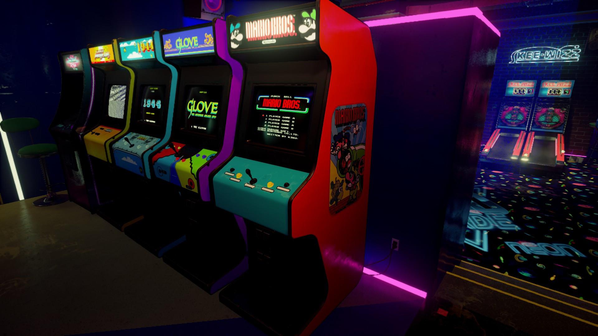 Arcade Cabinet …