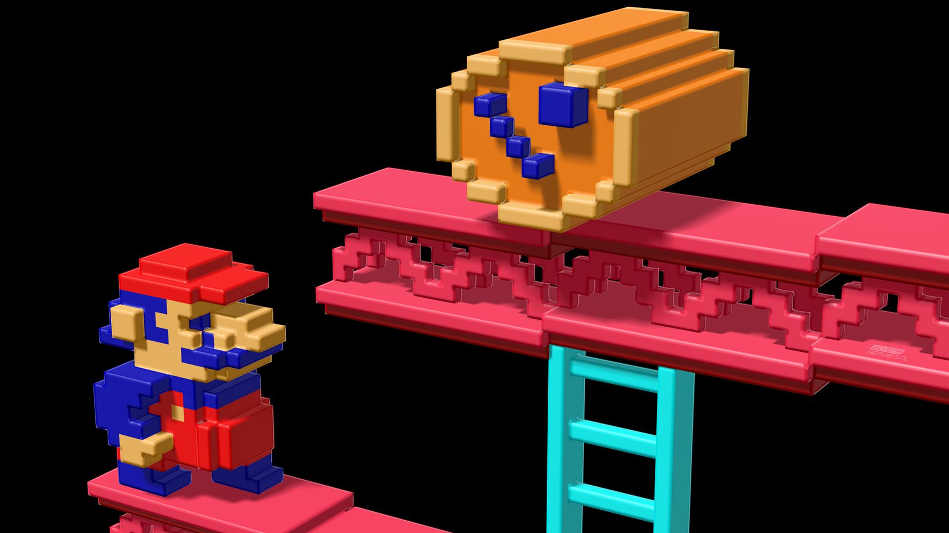 Wallpaper Roundup: Retro Video Games as Awesome Pixel Art