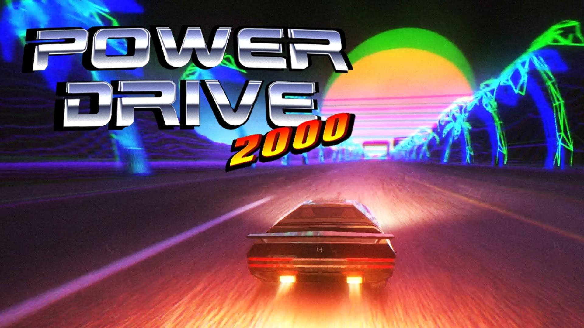 Power Drive 2000: Pre-Alpha – Retro 80s Arcade Racer – Tron Meets Knight  Rider – YouTube
