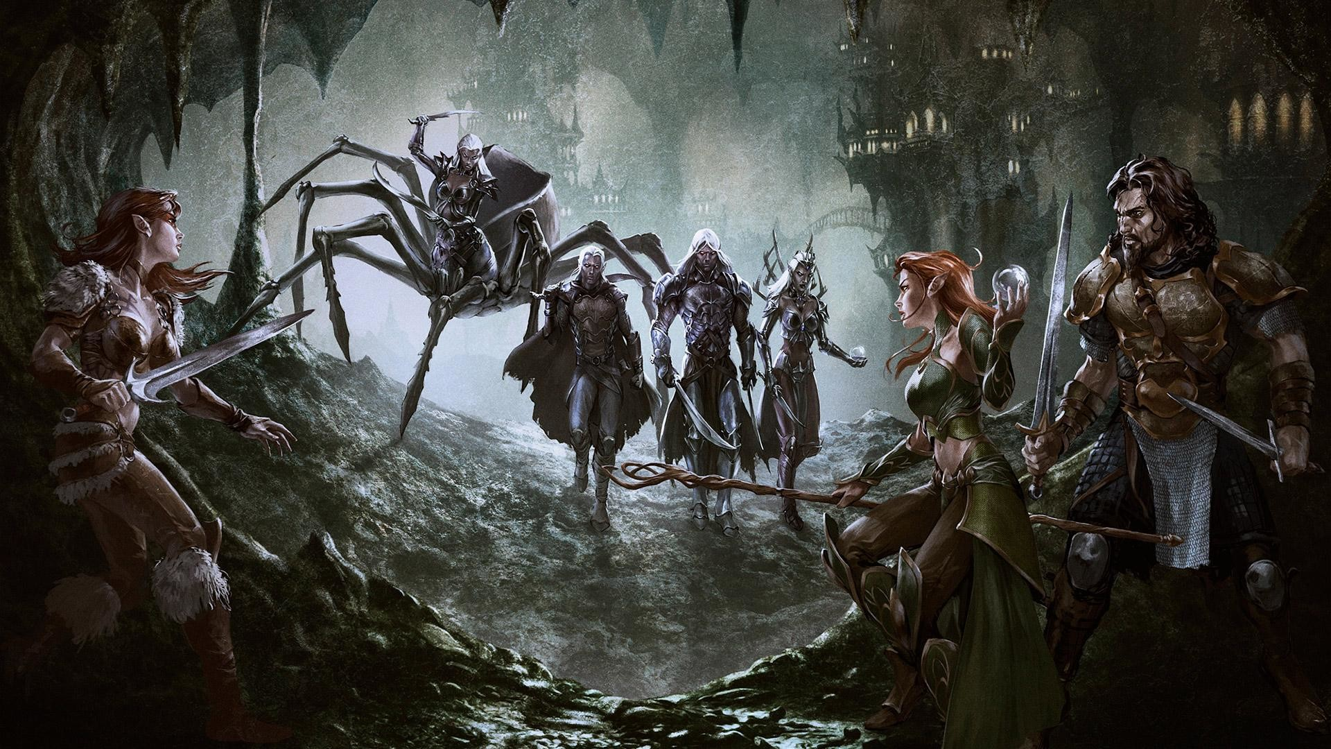 wallpaper.wiki-Dungeons-and-dragons-online-drows-PIC-