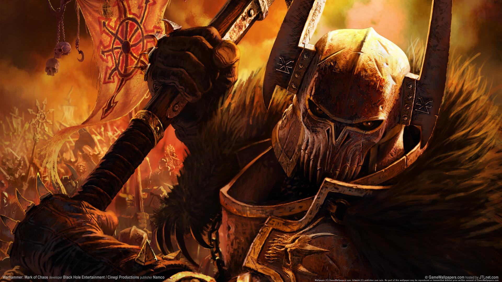 Free warhammer wallpaper background