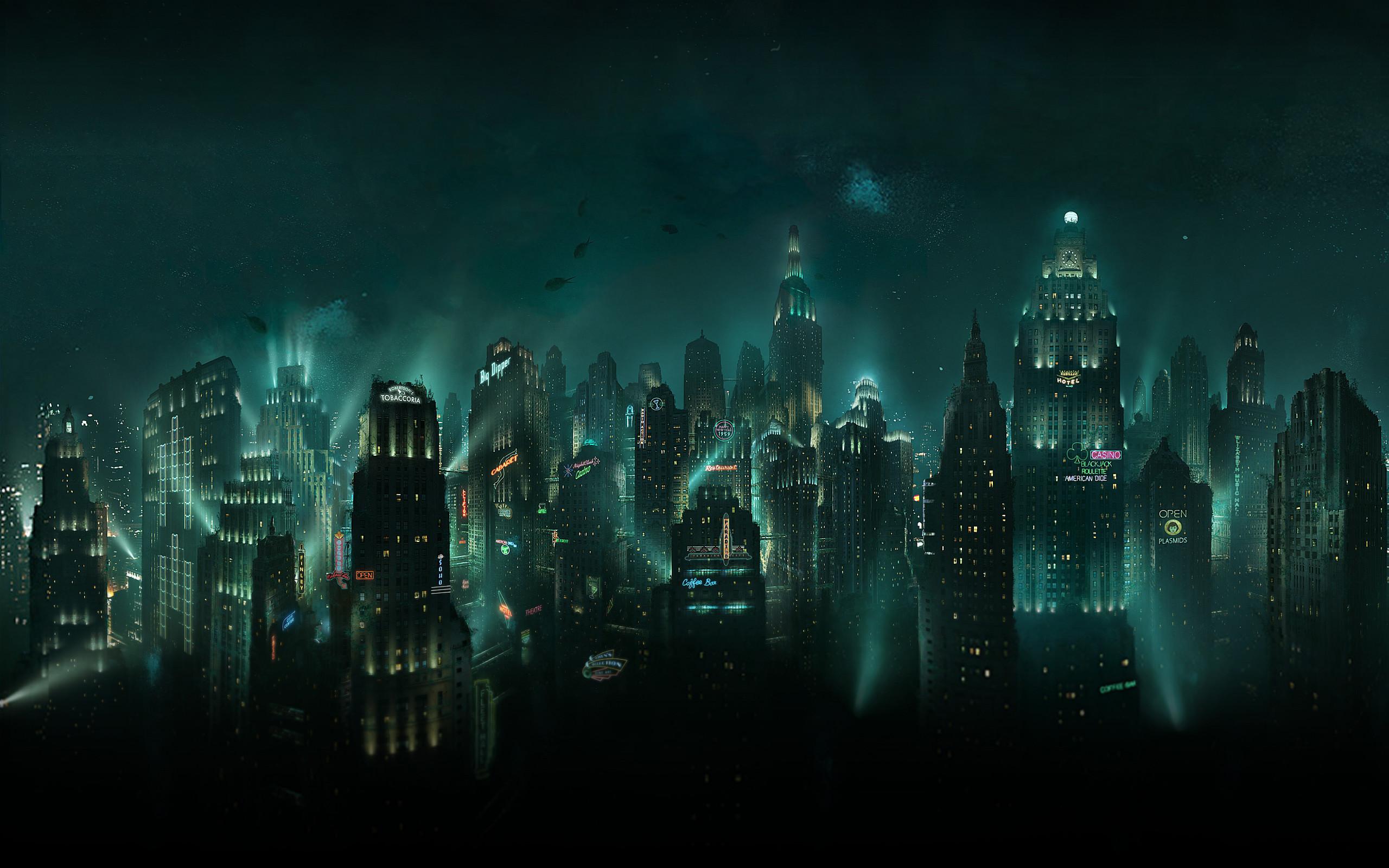 Free bioshock Video Game wallpaper background