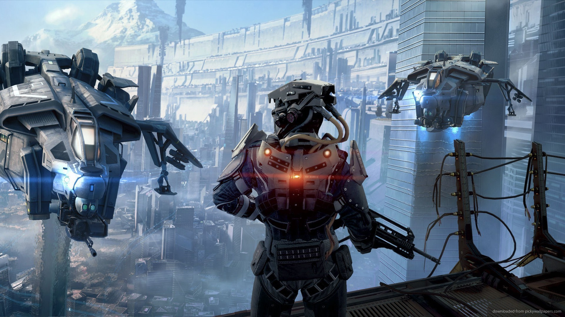 Killzone Shadow Fall Video Game Wallpaper picture