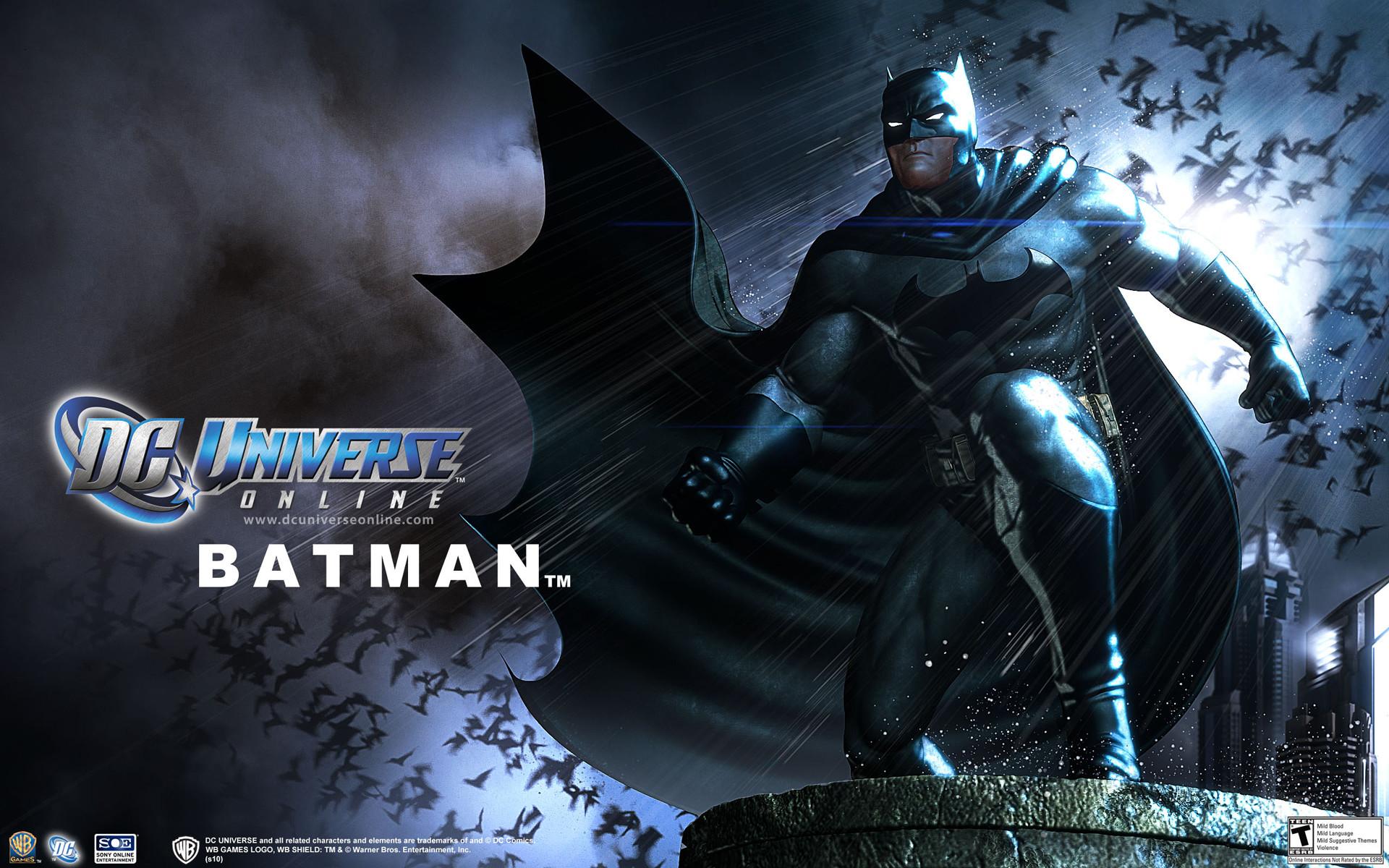 DC Comics Batman Video Game Wallpaper
