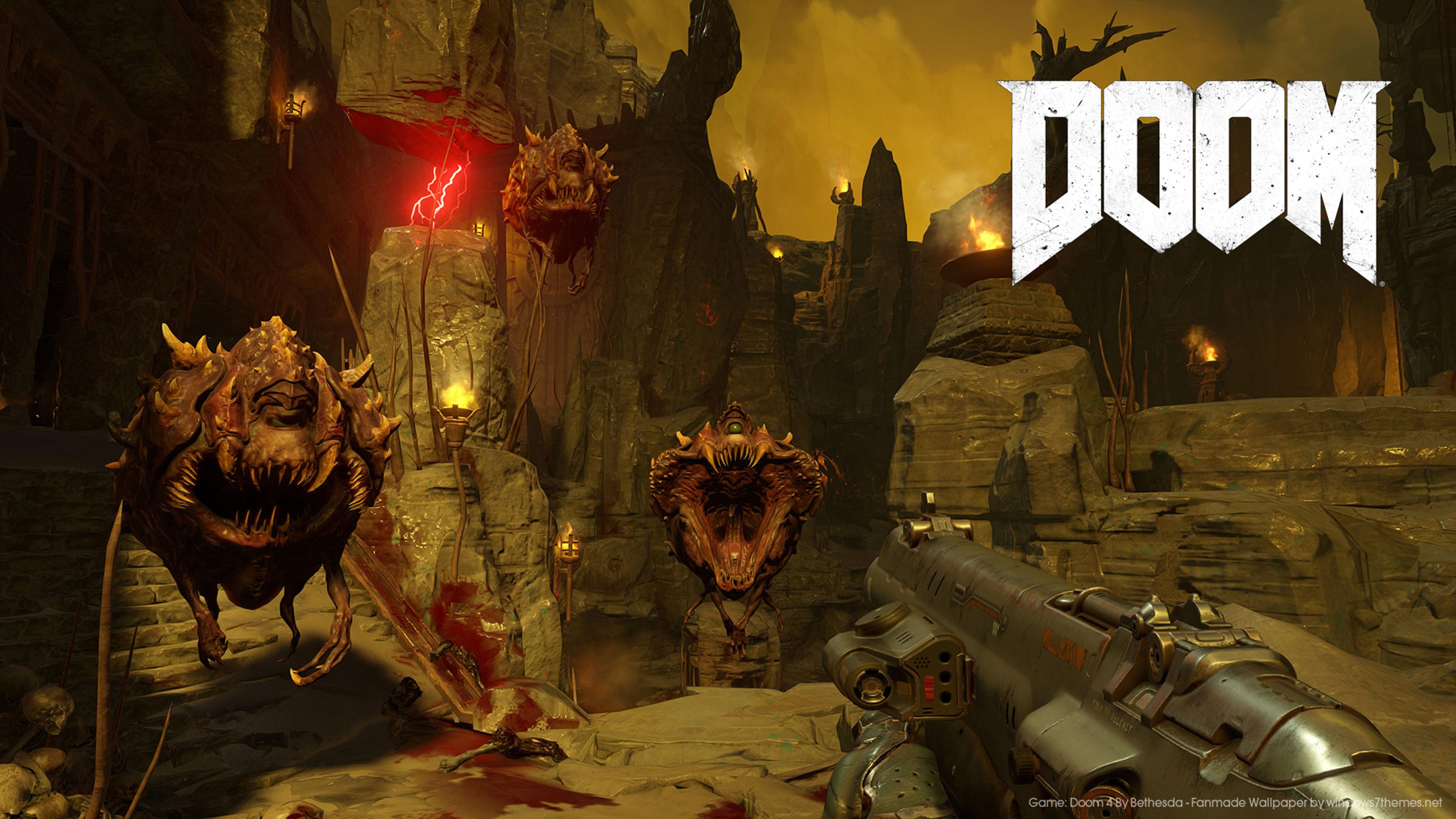 Doom 4K Wallpaper …