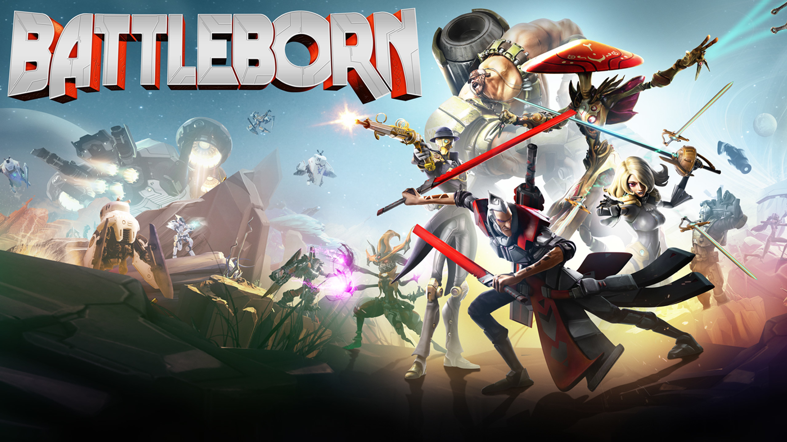 Battleborn Cover Game Wallpaper Wallpaper