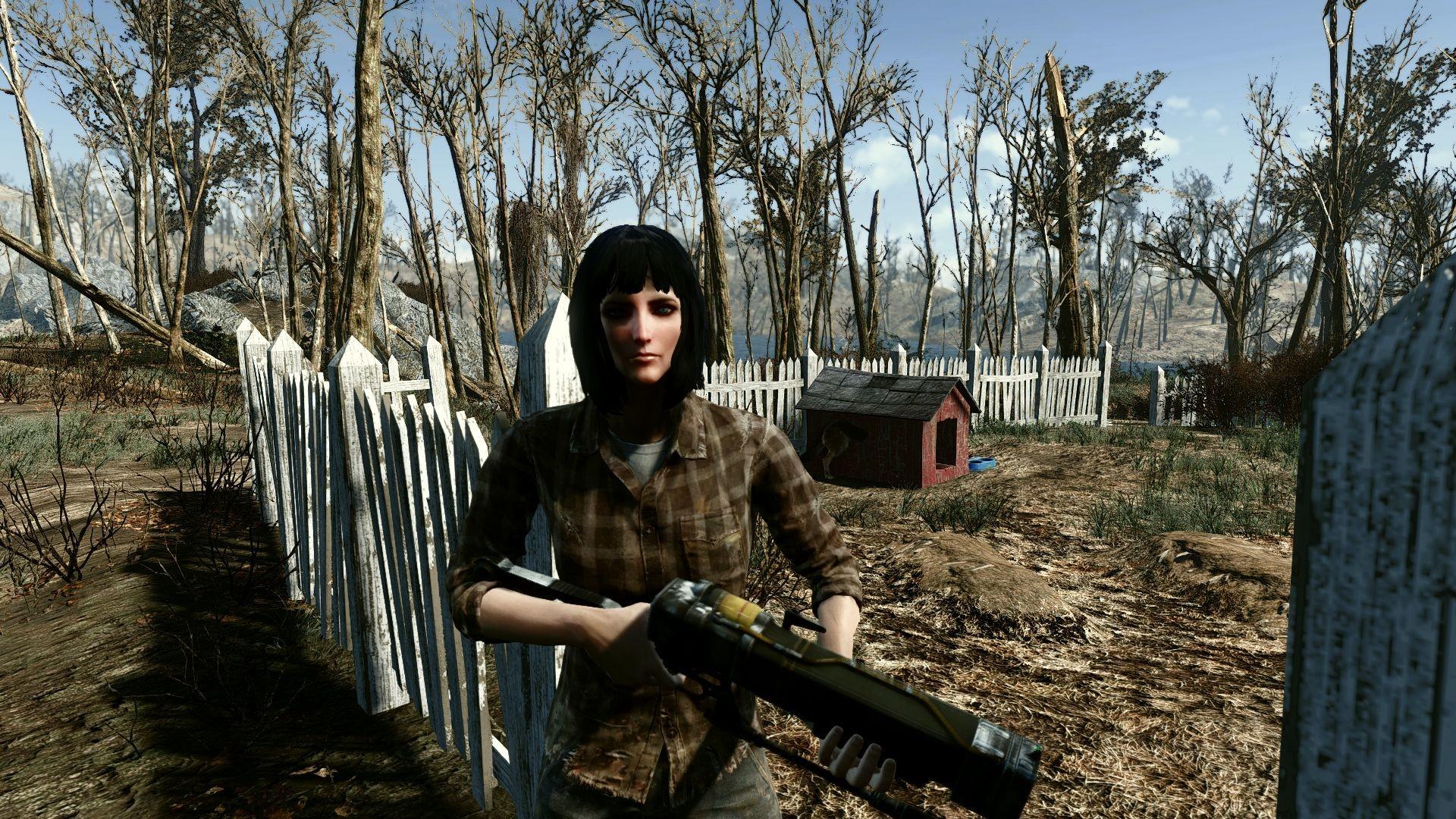 Rose – Companion Edition – Piper – Cait – Curie Fallout 4 Mod .