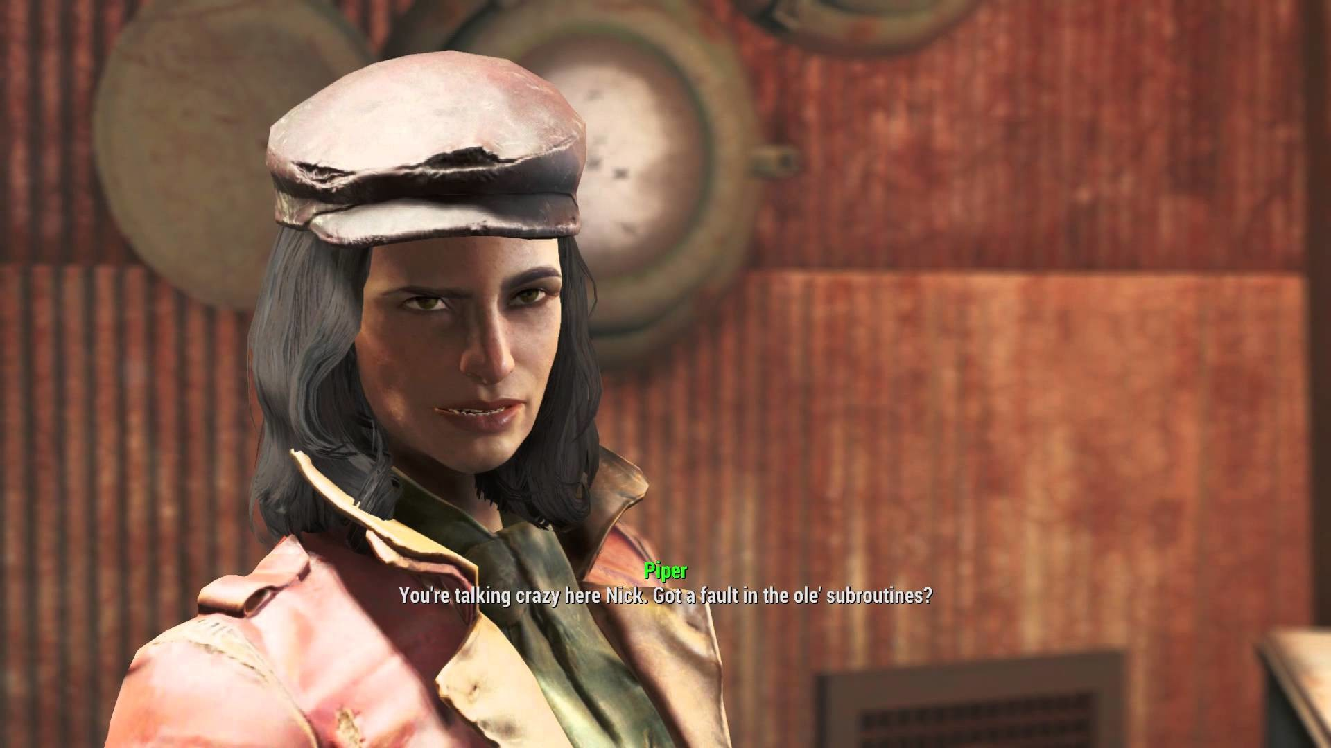 "Fallout 4 – Reunions: Piper Wright & Nick Valentine ""Doctor Amari""  ""Kellogg's Dead"" Dialogue Tree – YouTube"