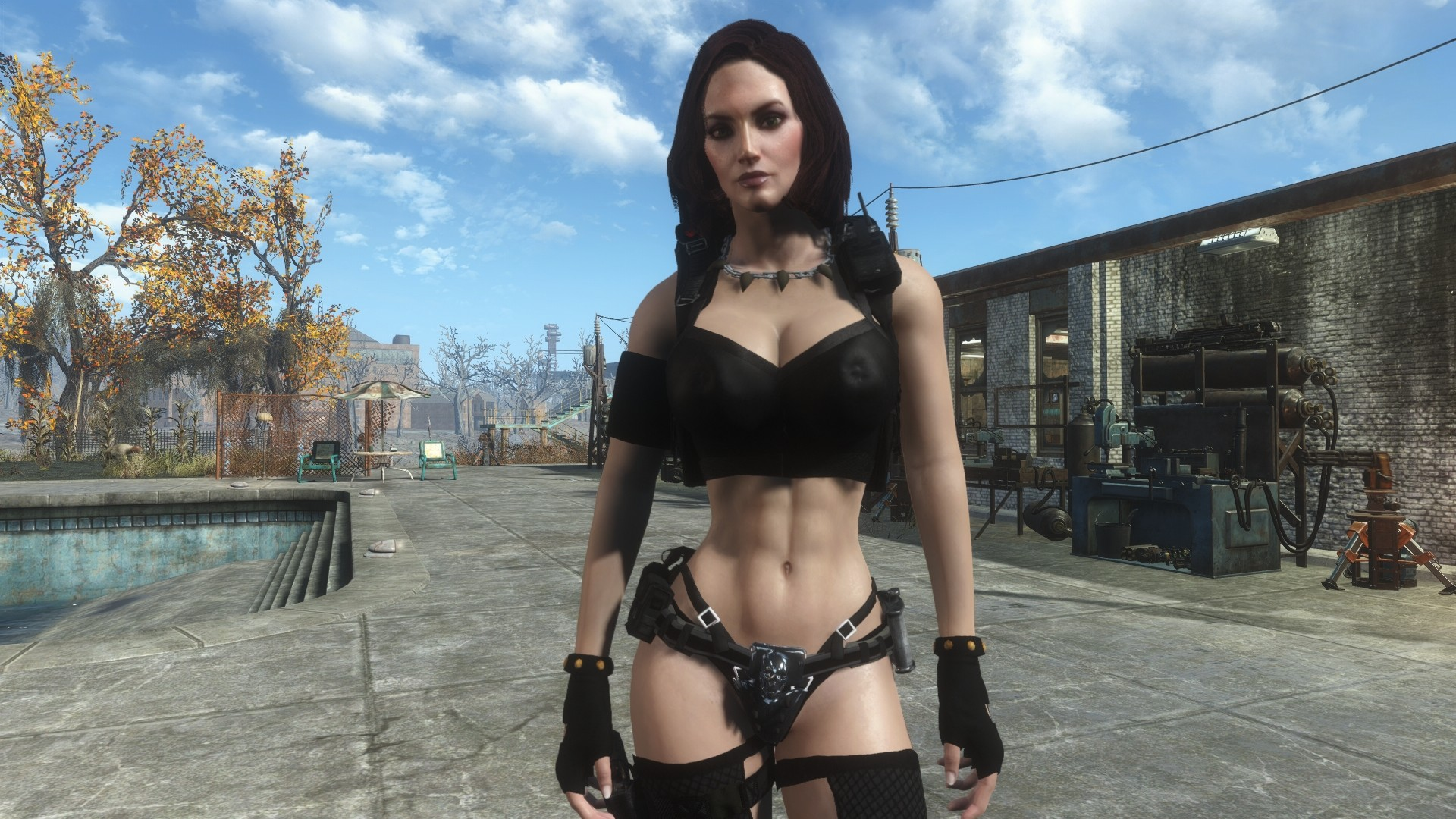 Tough and Deadly Bombshell Piper Fallout 4