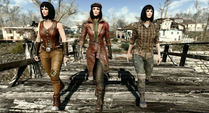 Fallout 4 Cait Outfit