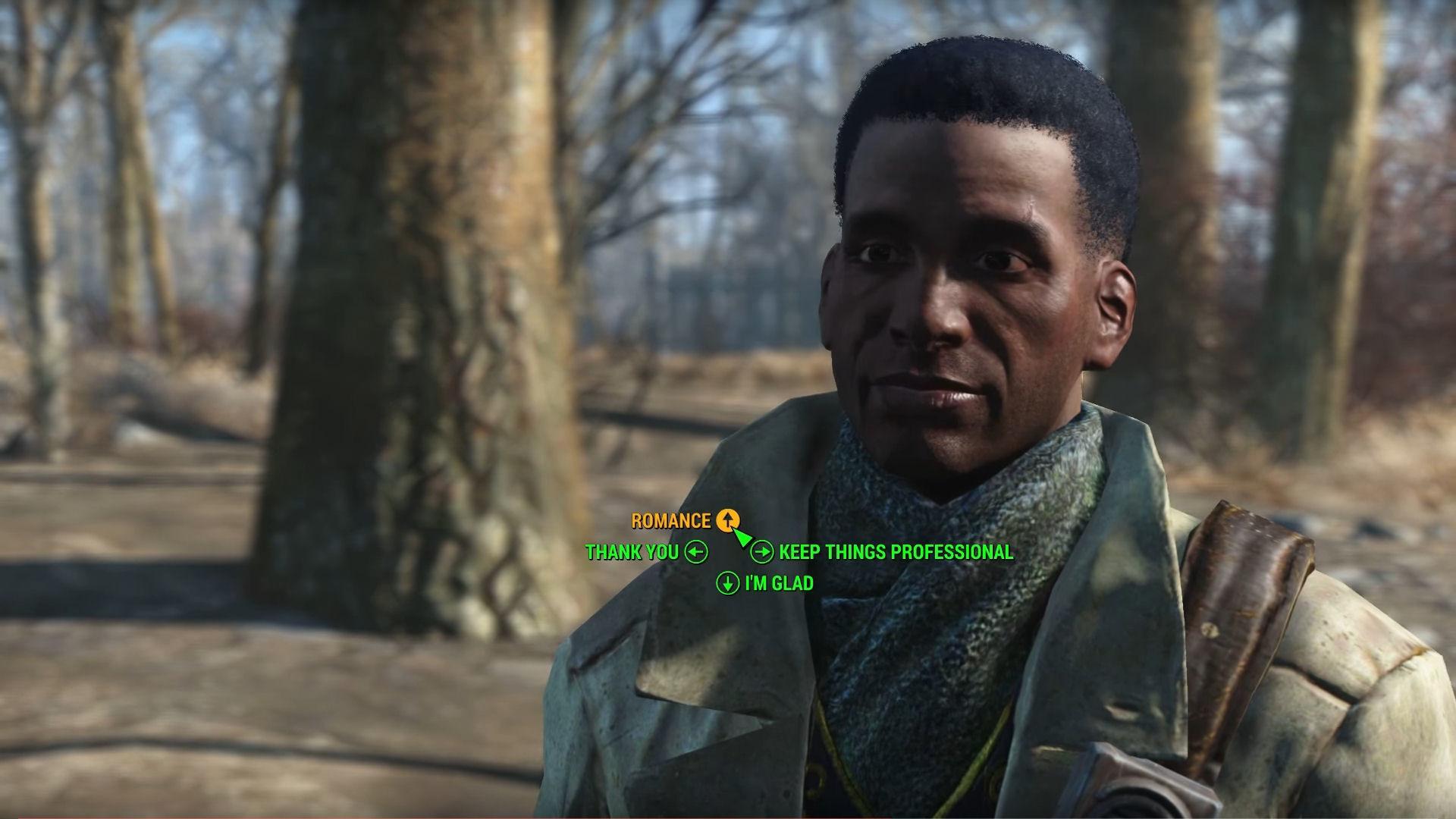 Fallout 4 Preston Garvey Romance