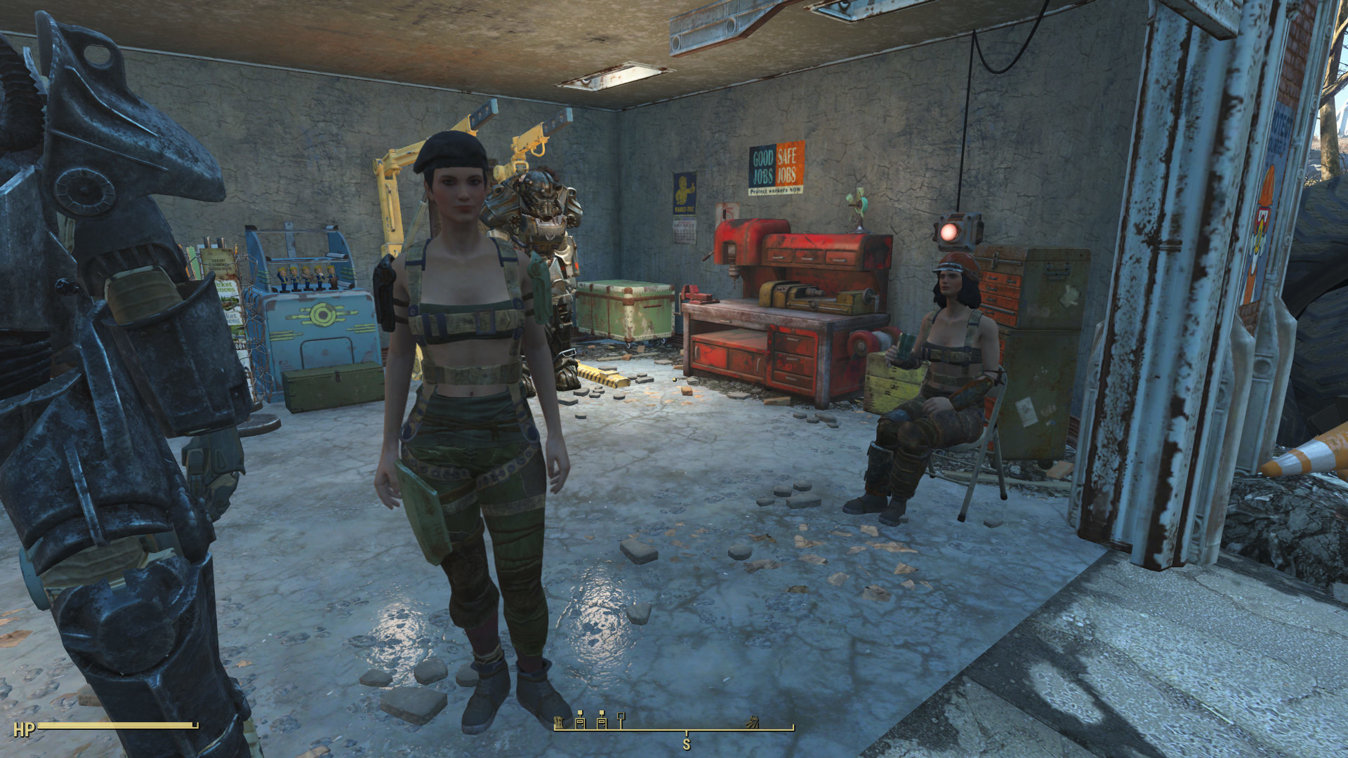 Fallout 4 – How I like Piper and Curie to dress :)