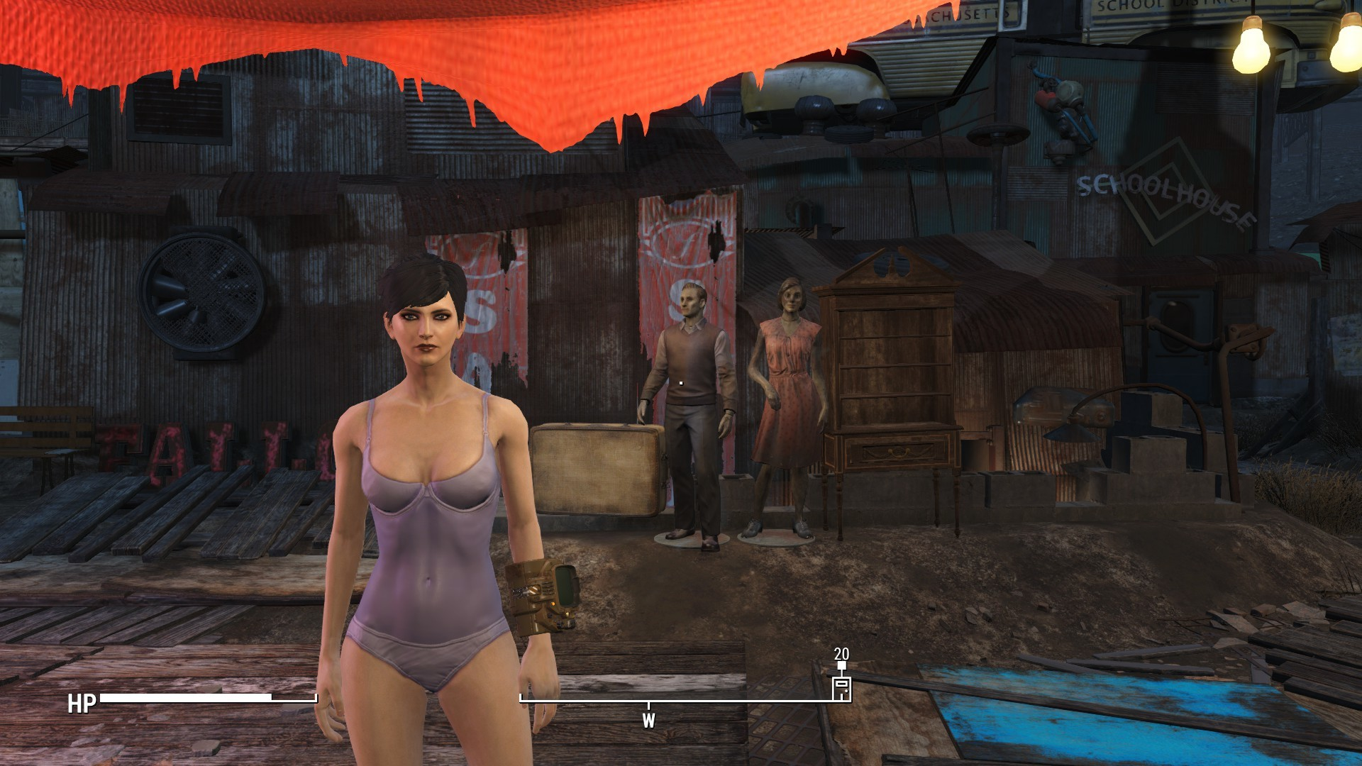… Fallout 4 Swimsuit Instead of Underwear 2 …