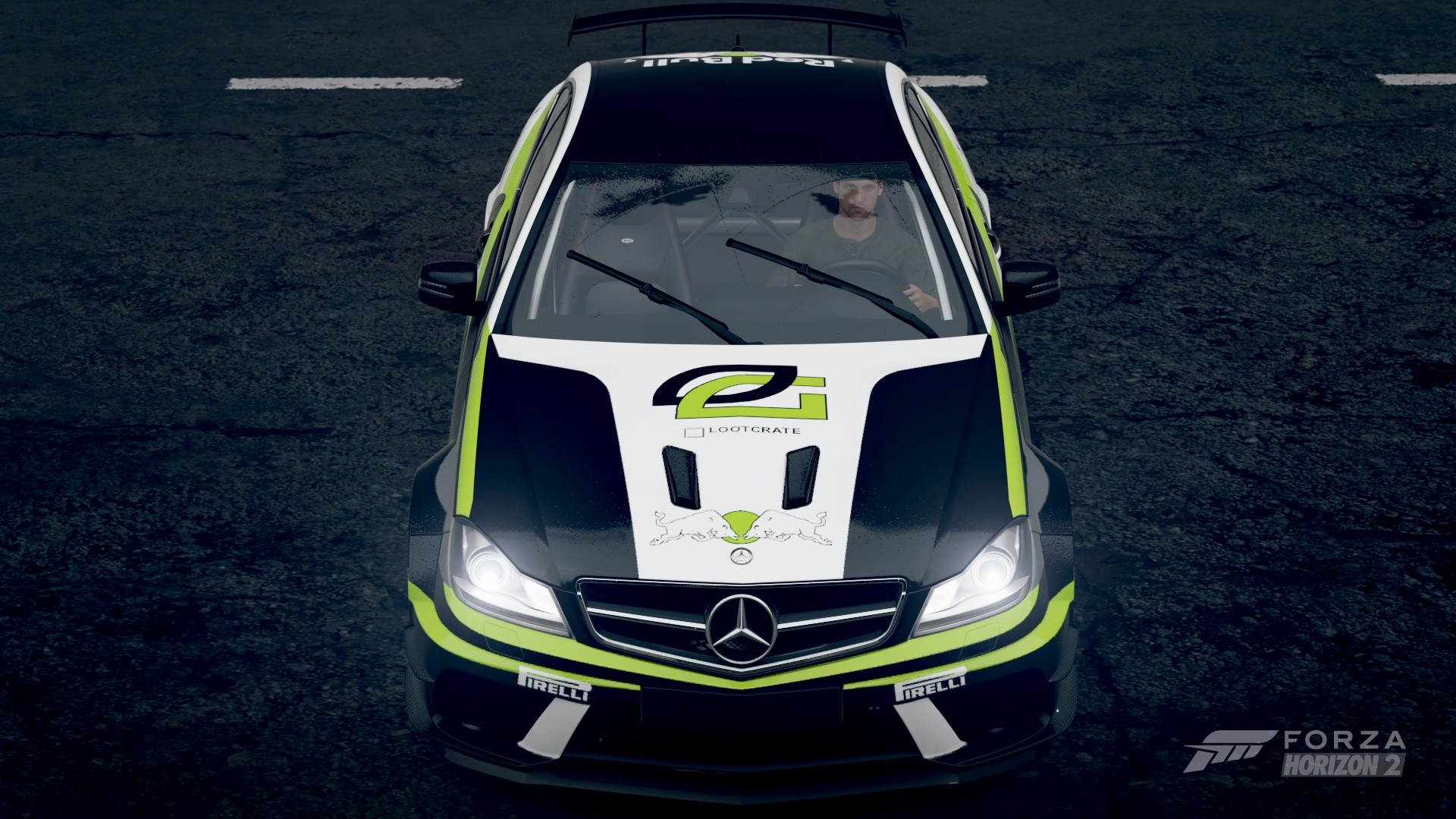 Optic Gaming Mercedes C63 AMG
