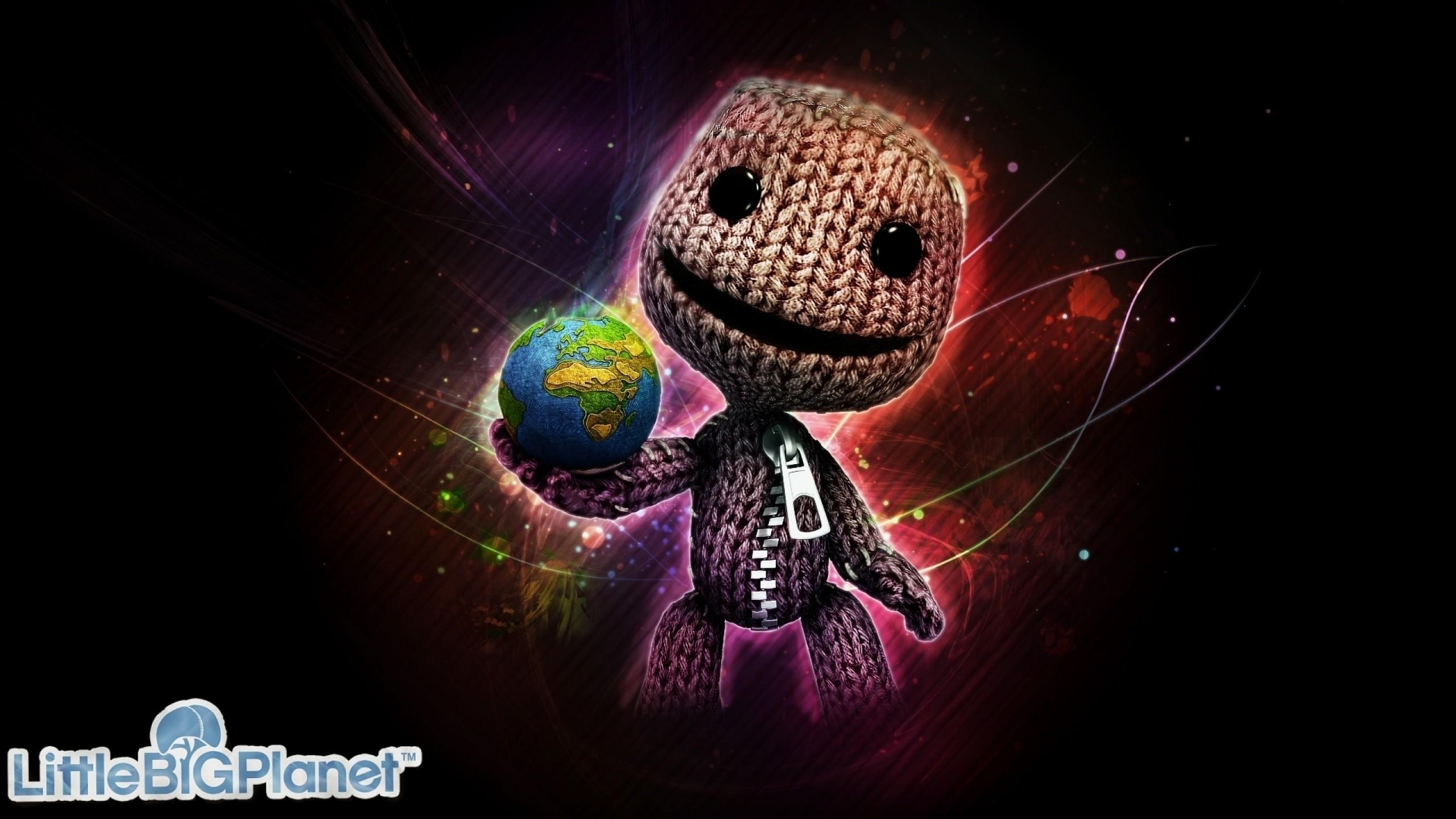 Wallpaper littlebigplanet, lbp, little big planet, sackboy, doll