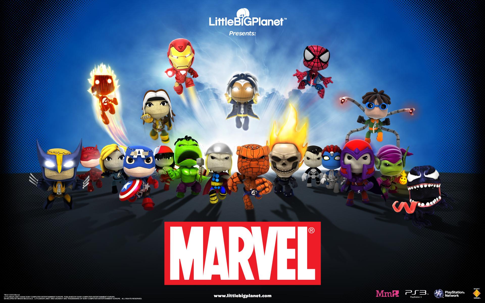 LittleBigPlanet Marvel Wallpaper