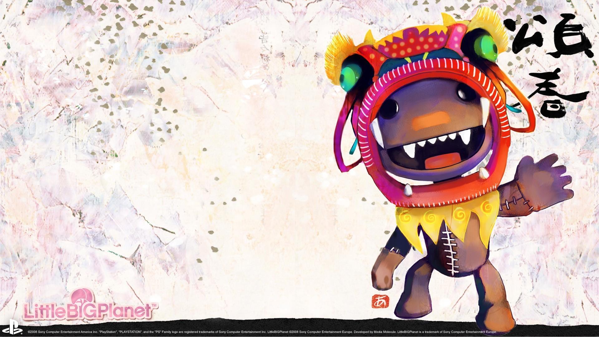 Little Big Planet Sackboy artwork wallpaper | | 210074 |  WallpaperUP