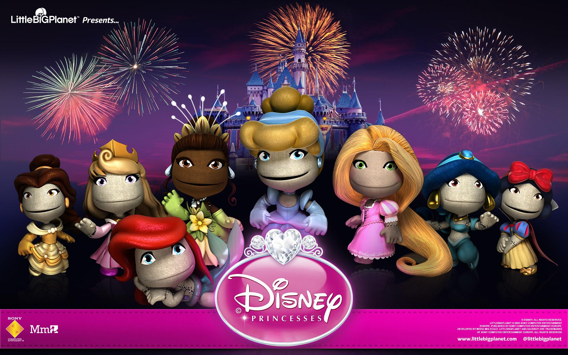 LittleBigPlanet 2's Disney Princess Costume Pack