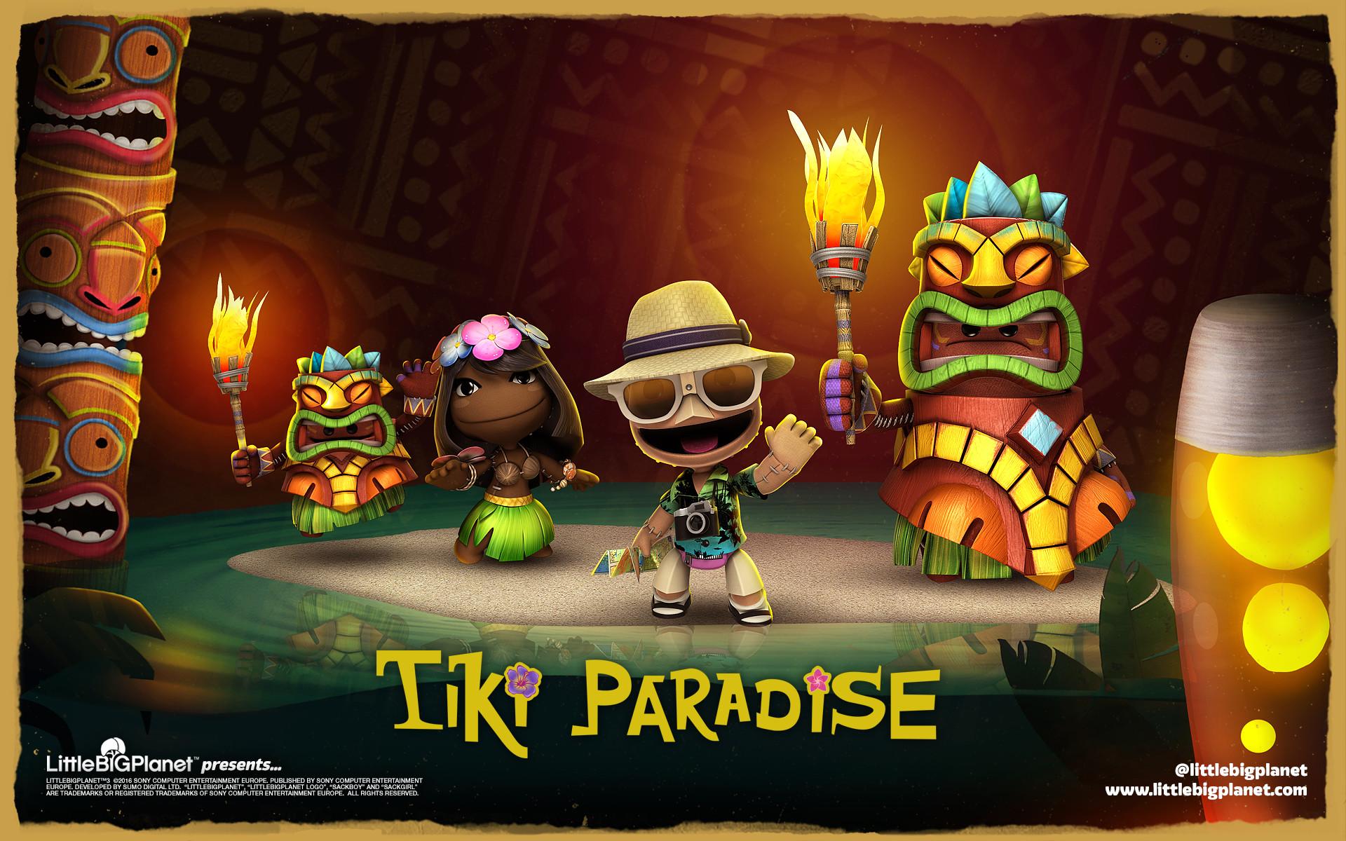Tiki Paradise Level Kit available now!