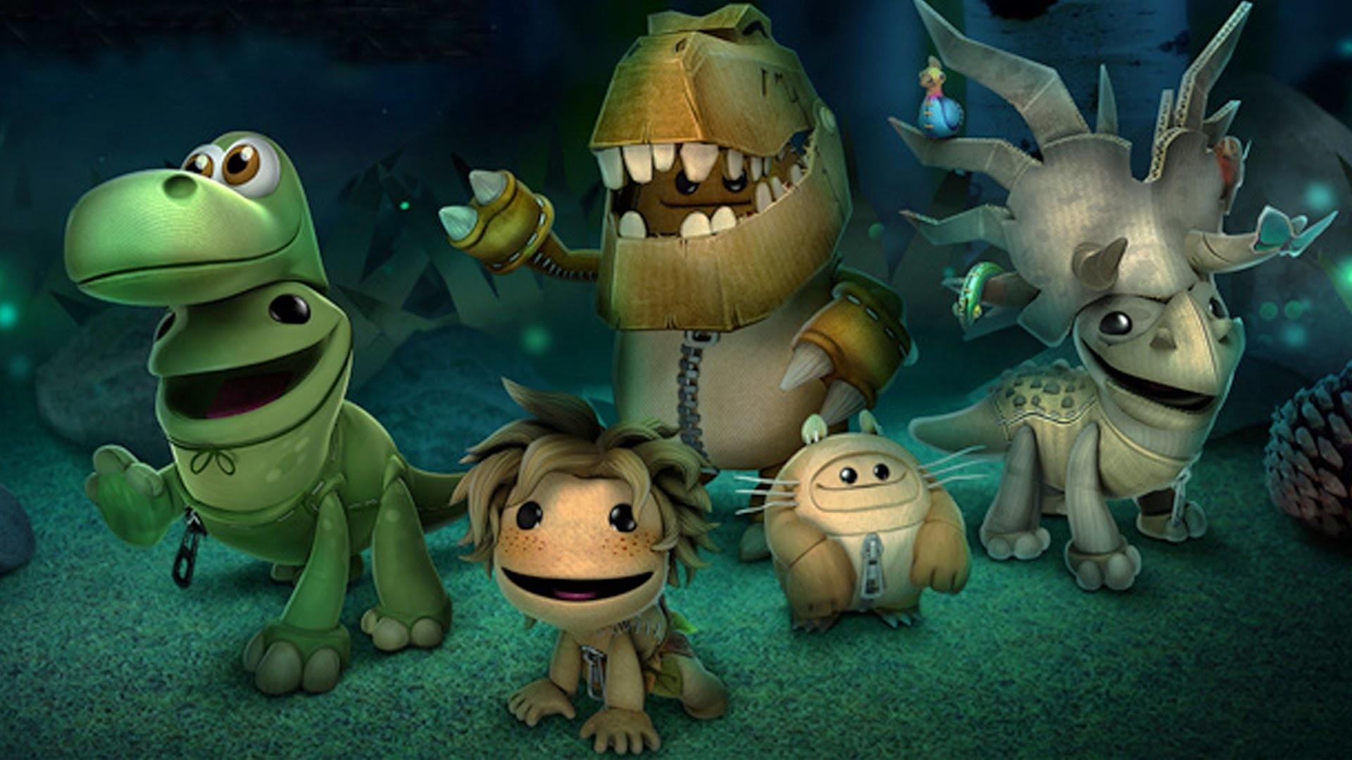 LittleBigPlanet 3 – The Good Dinosaur Costume Pack Showcase – LBP3 PS4 –  YouTube
