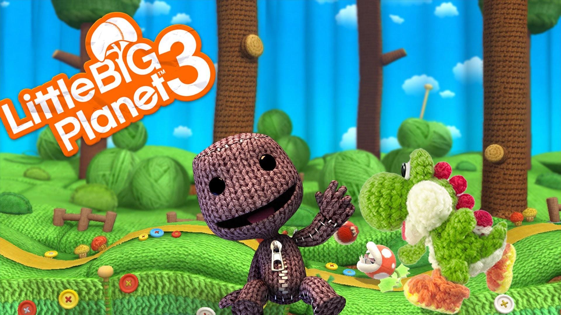 LittleBigPlanet 3~Sackboy's Woolly World~By:PartyGamer13