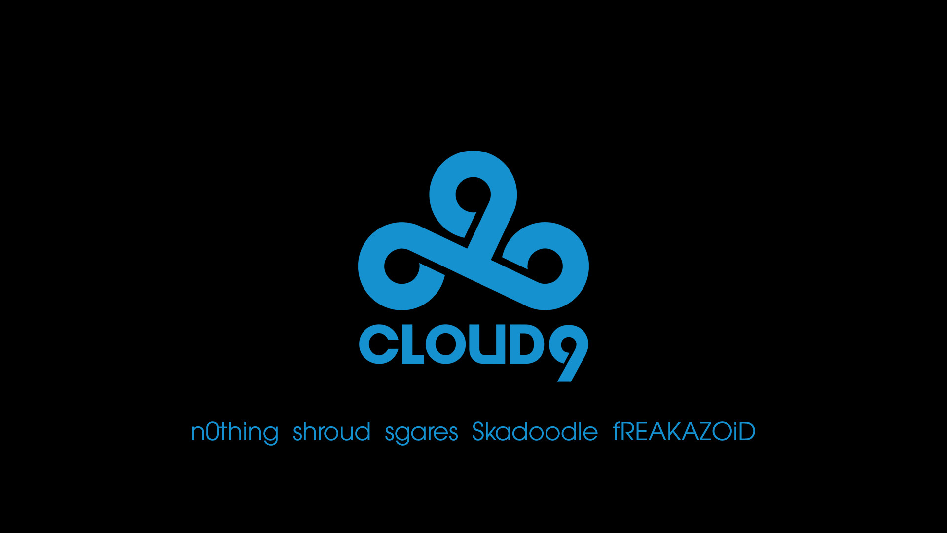 Cloud9 black/blue