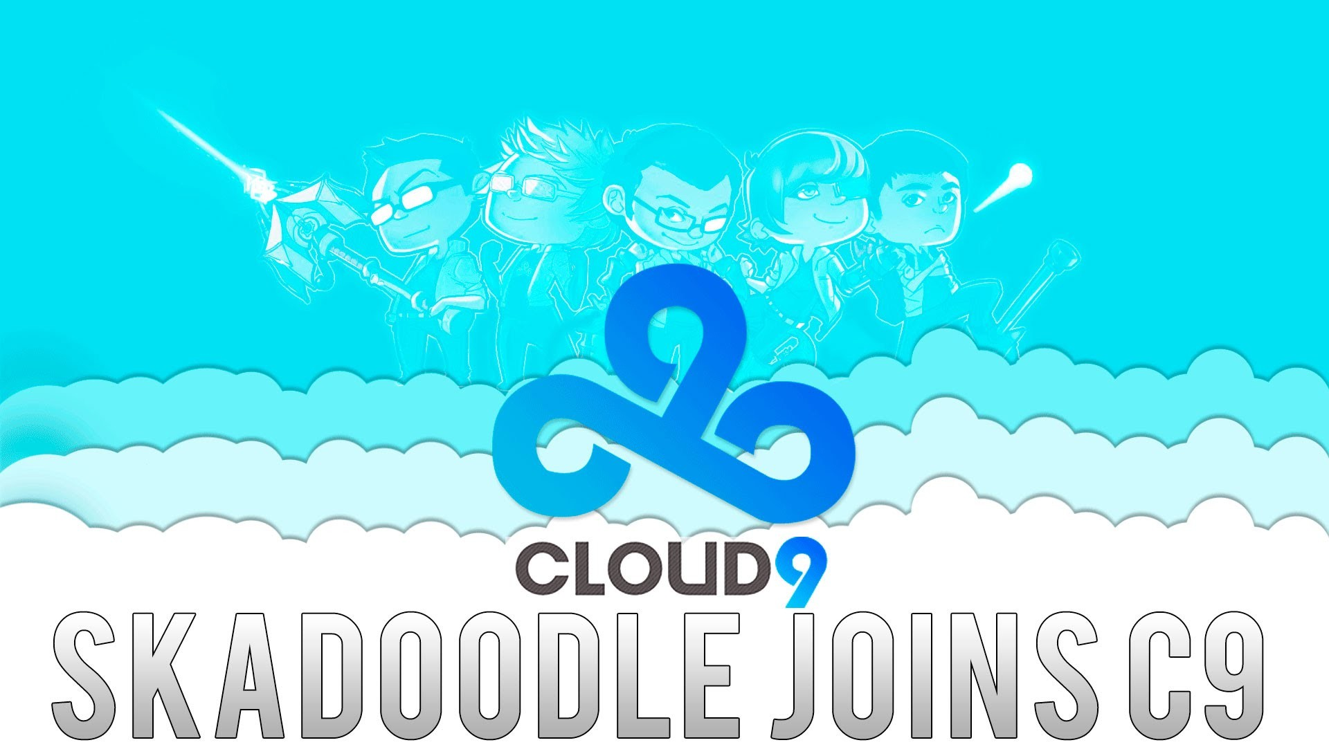 CS:GO – Skadoodle Joins Cloud9 – Welcome to Cloud9 – Skadoodle Highlights –  Frag Movie