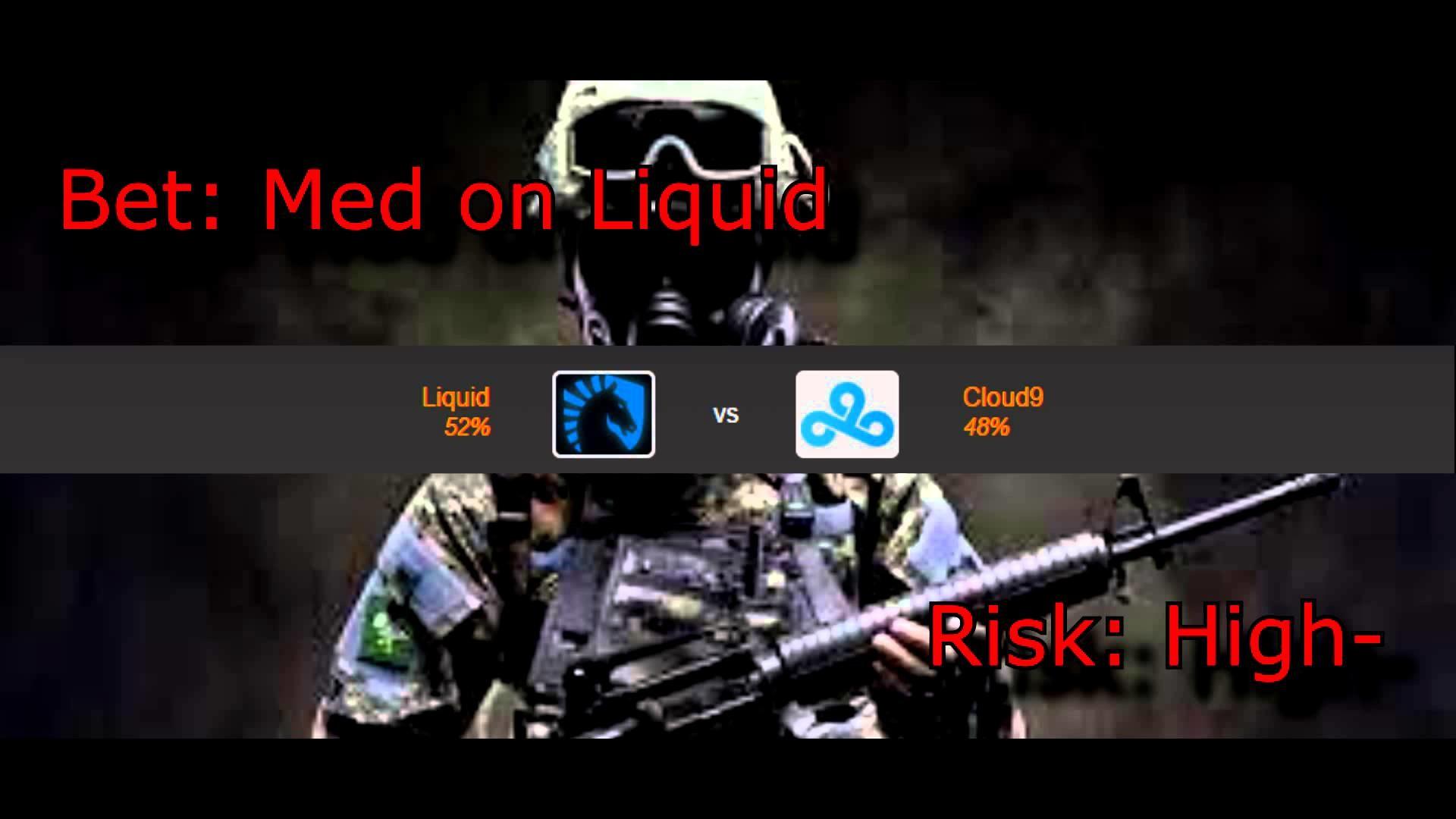 Liquid vs Cloud9 CSGO Lounge Prediction 15/01/2015