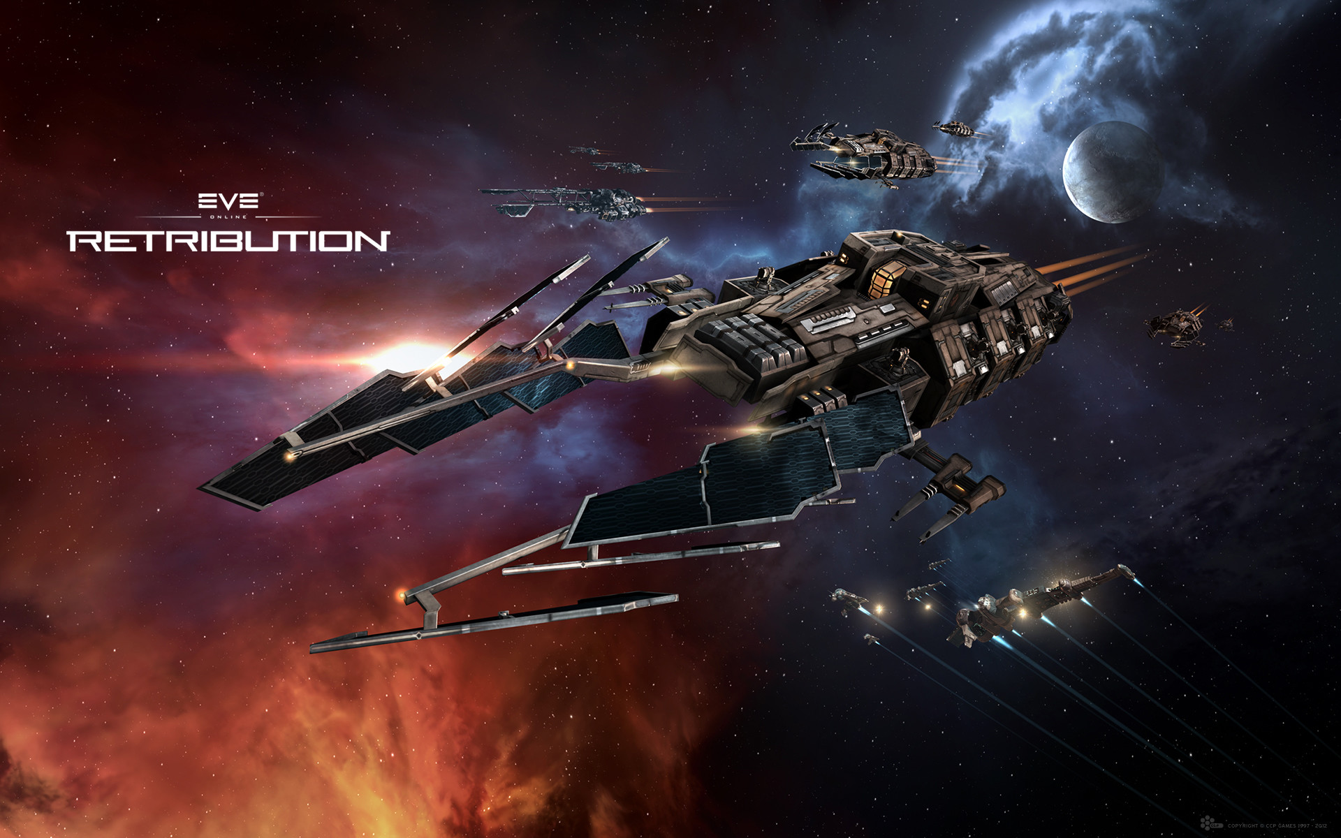 6 EVE Online: Retribution HD Wallpapers | Backgrounds – Wallpaper Abyss