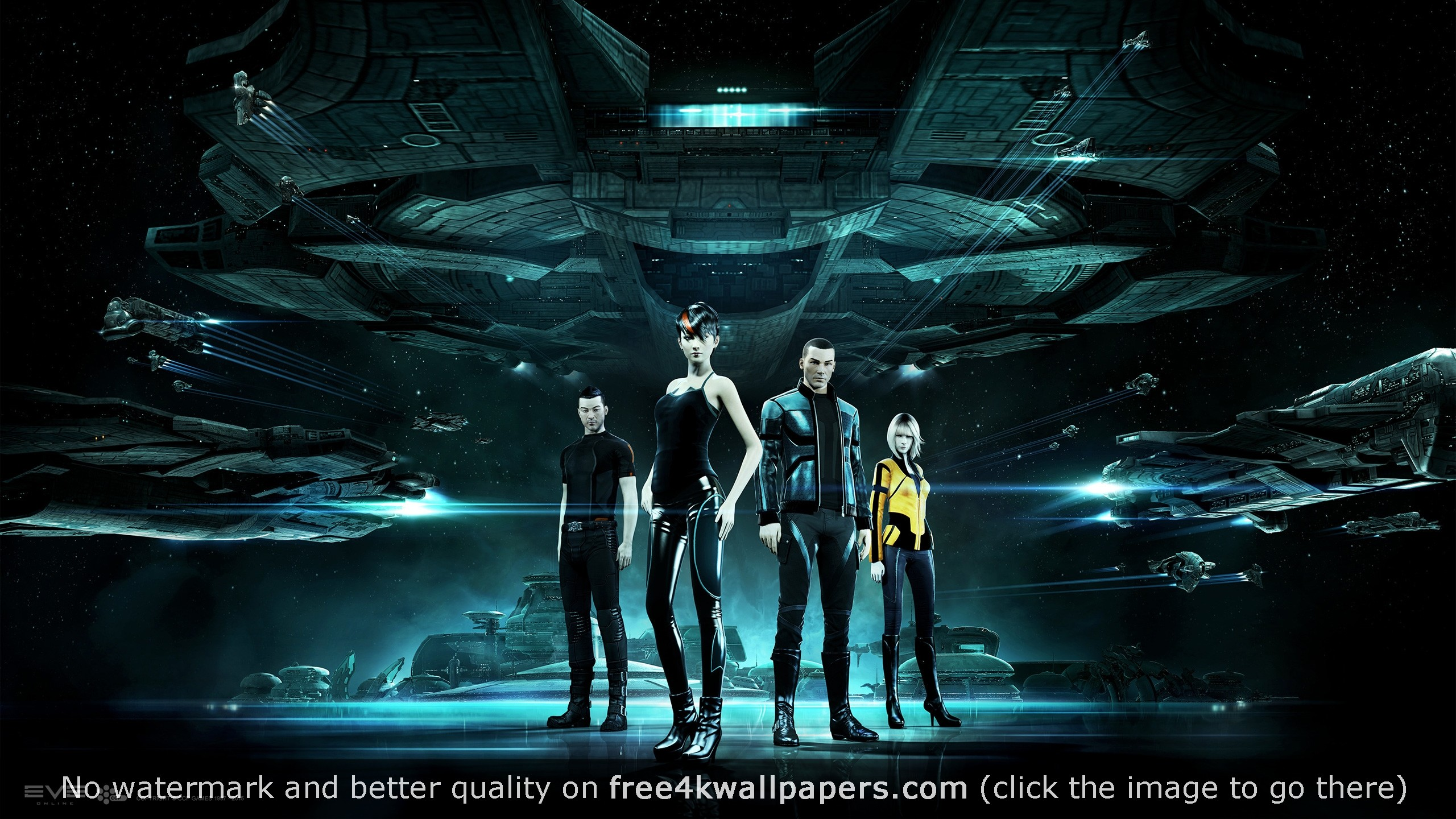 Eve Online Gallente HD wallpaper