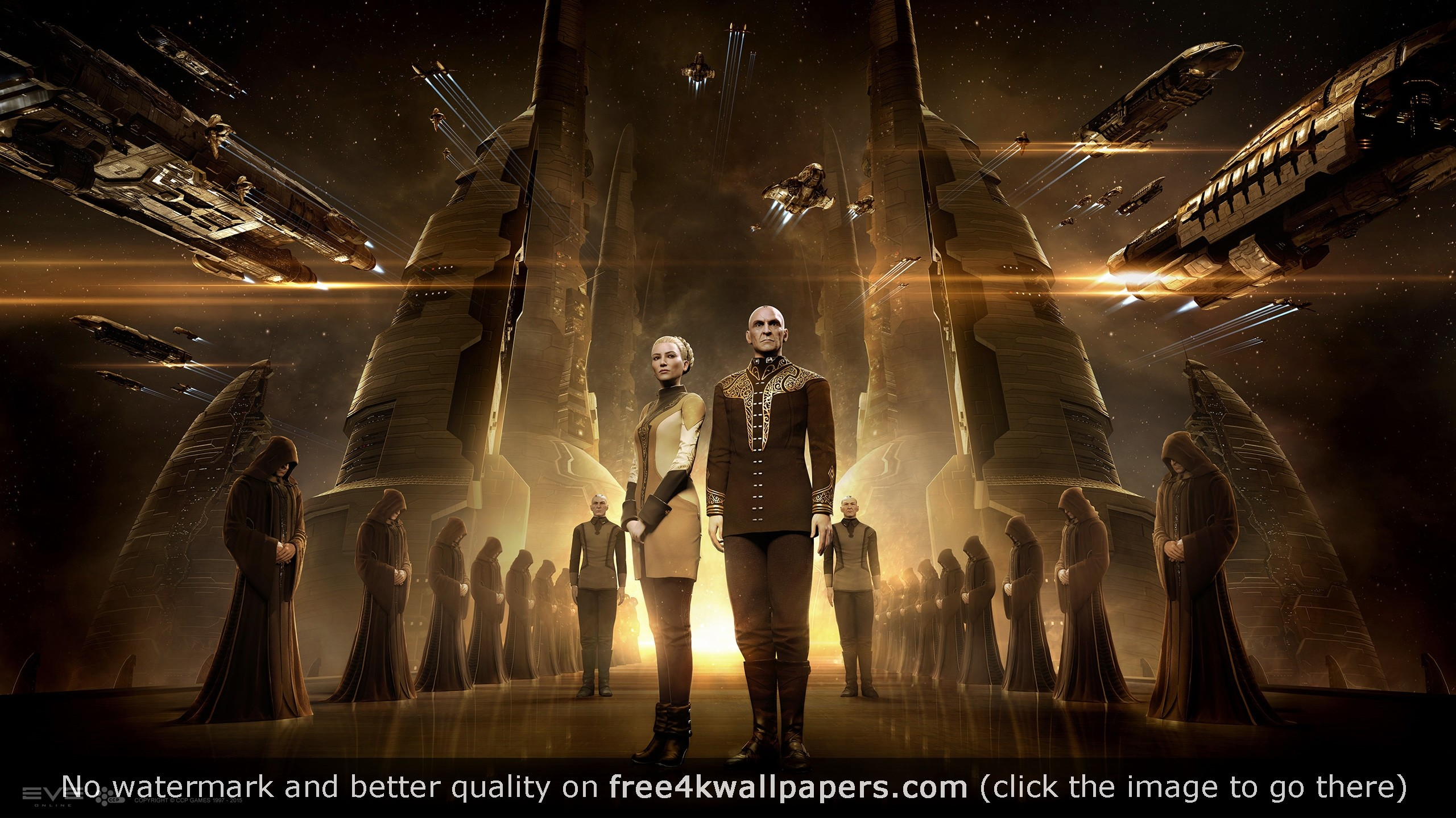 Eve Online Amarr HD wallpaper