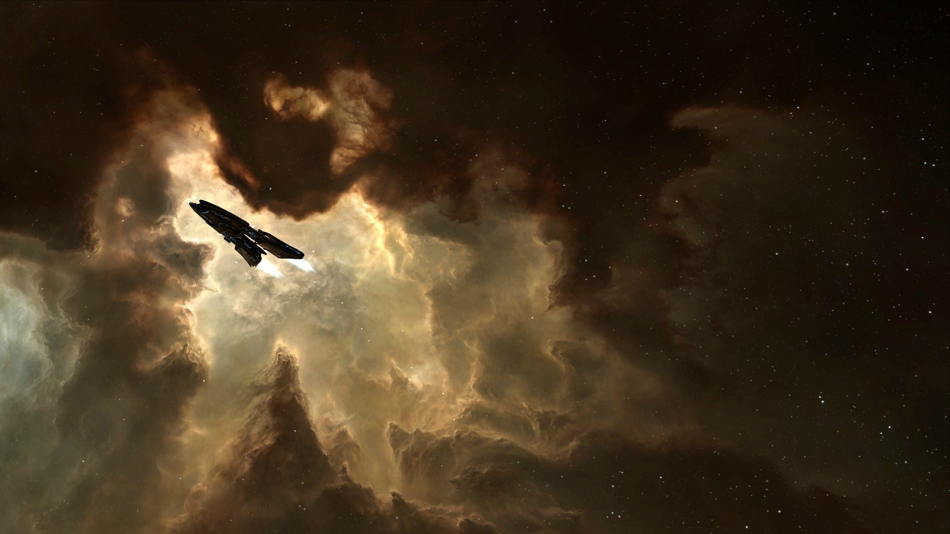 EVE Online, Space, Spaceship, Amarr Wallpapers HD / Desktop and Mobile  Backgrounds