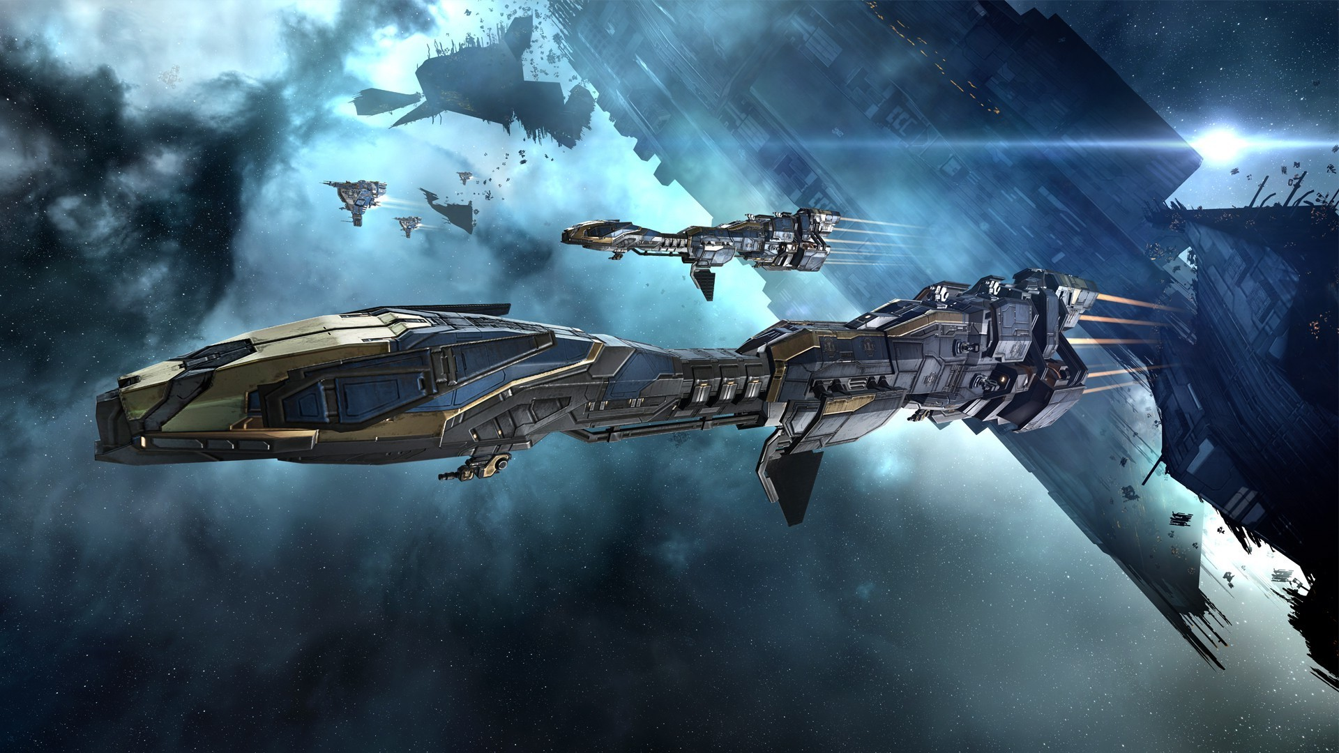 EVE Online, Minmatar, Video Games, Spaceship, Concept Art, Science Fiction,  Space, Stabber Cruiser Wallpapers HD / Desktop and Mobile Backgrounds