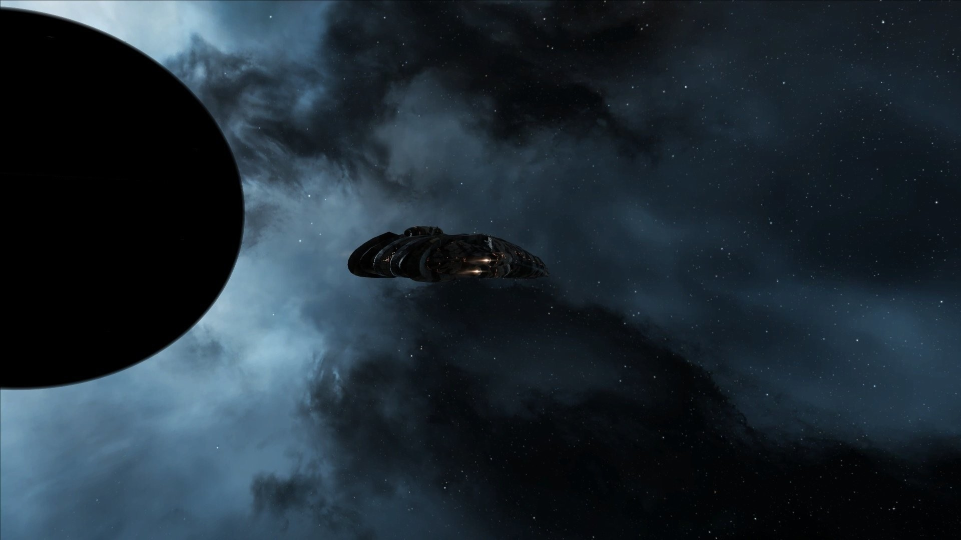 Video Game – EVE Online Spaceship Planet Sci Fi Wallpaper