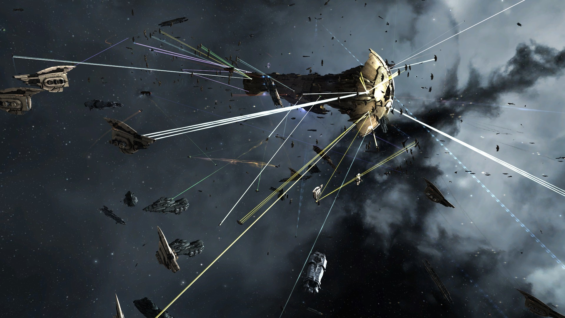 EVE Online: A compilation of the background/news/videos/screenshots from the