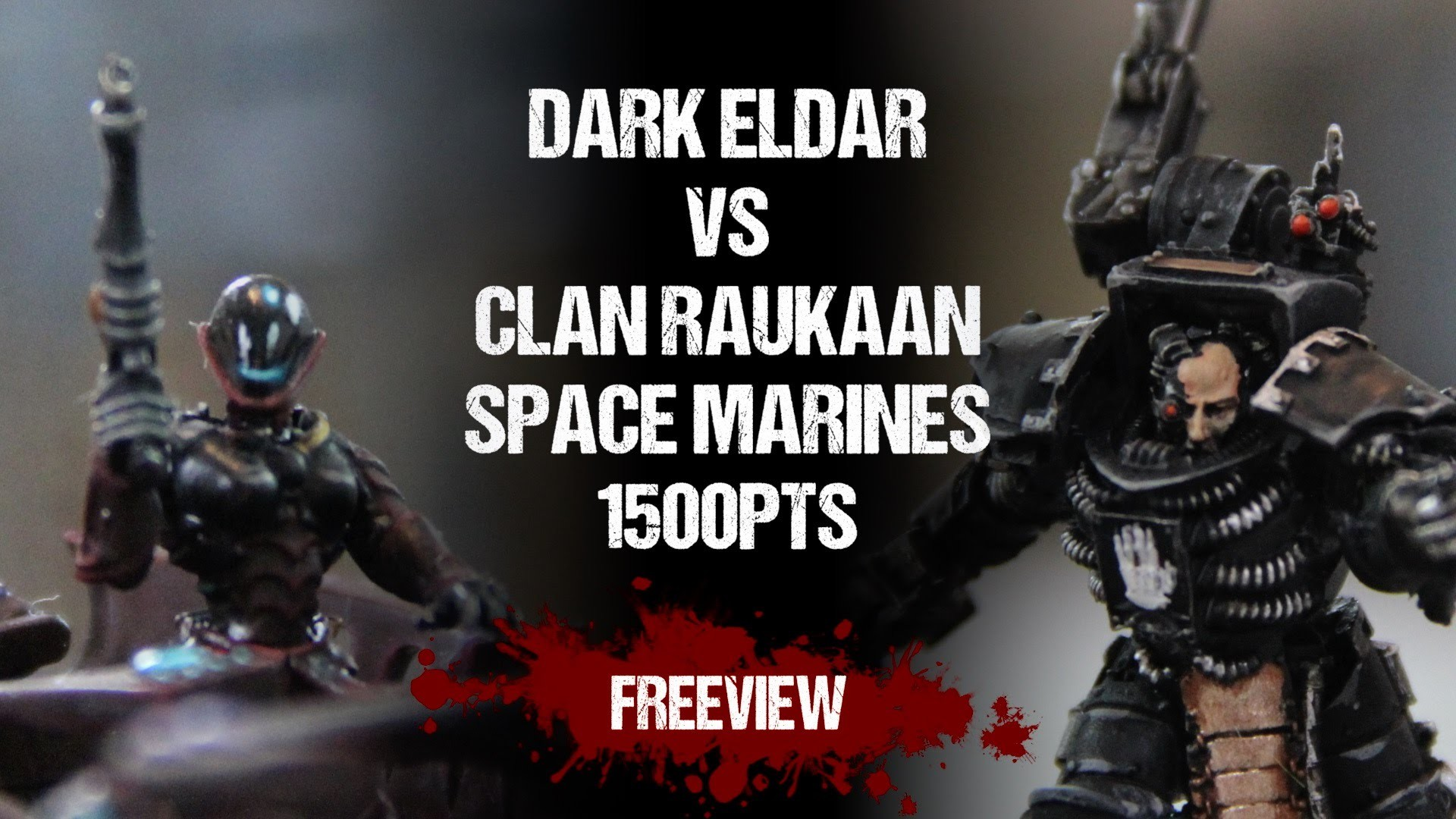 Warhammer 40,000 Battle Report: Dark Eldar vs Iron Hands Space Marines  1500pts – YouTube
