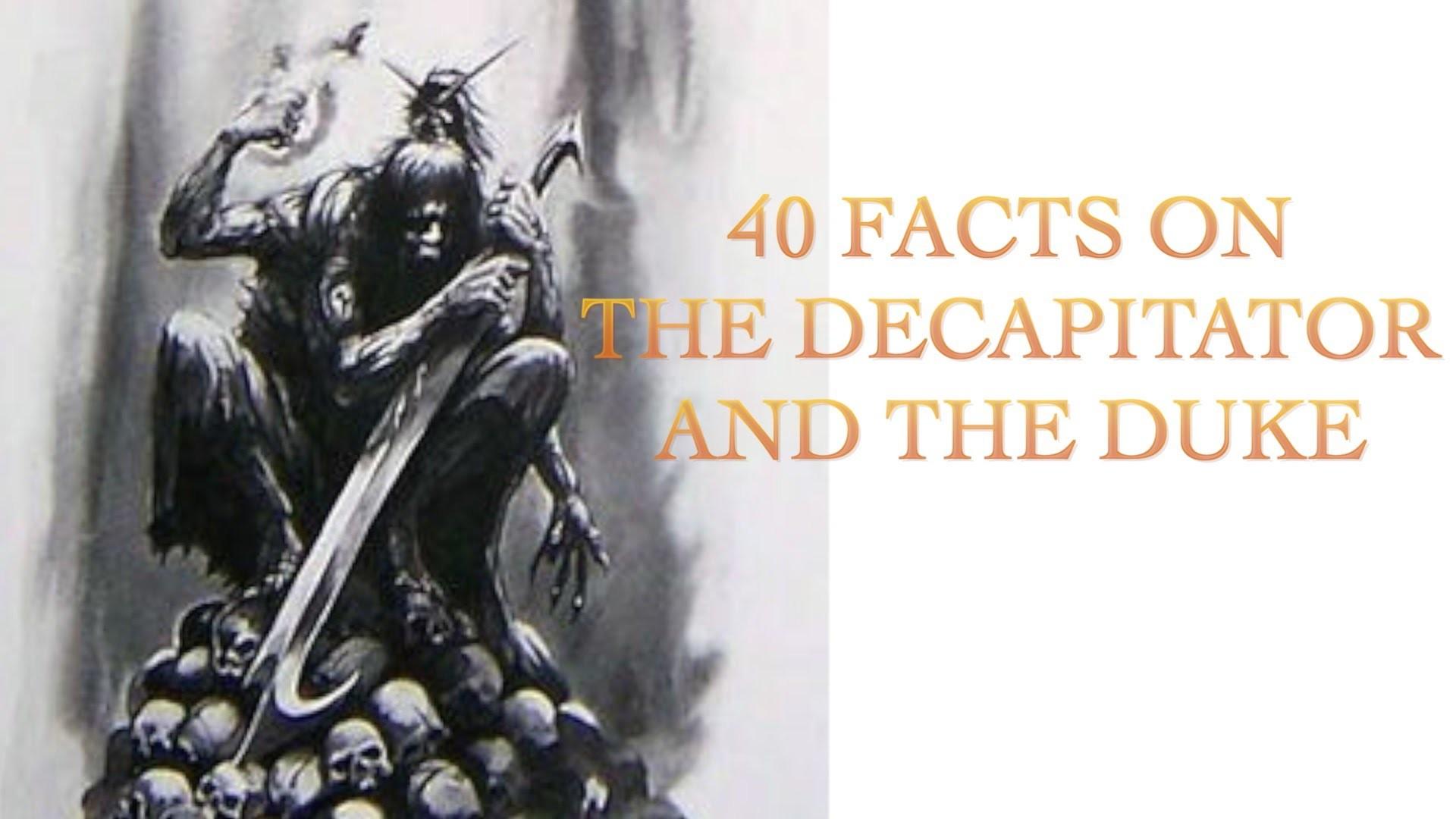40 Facts and Lore on the Decapitator & the Duke of the Dark Eldar Warhammer  40k