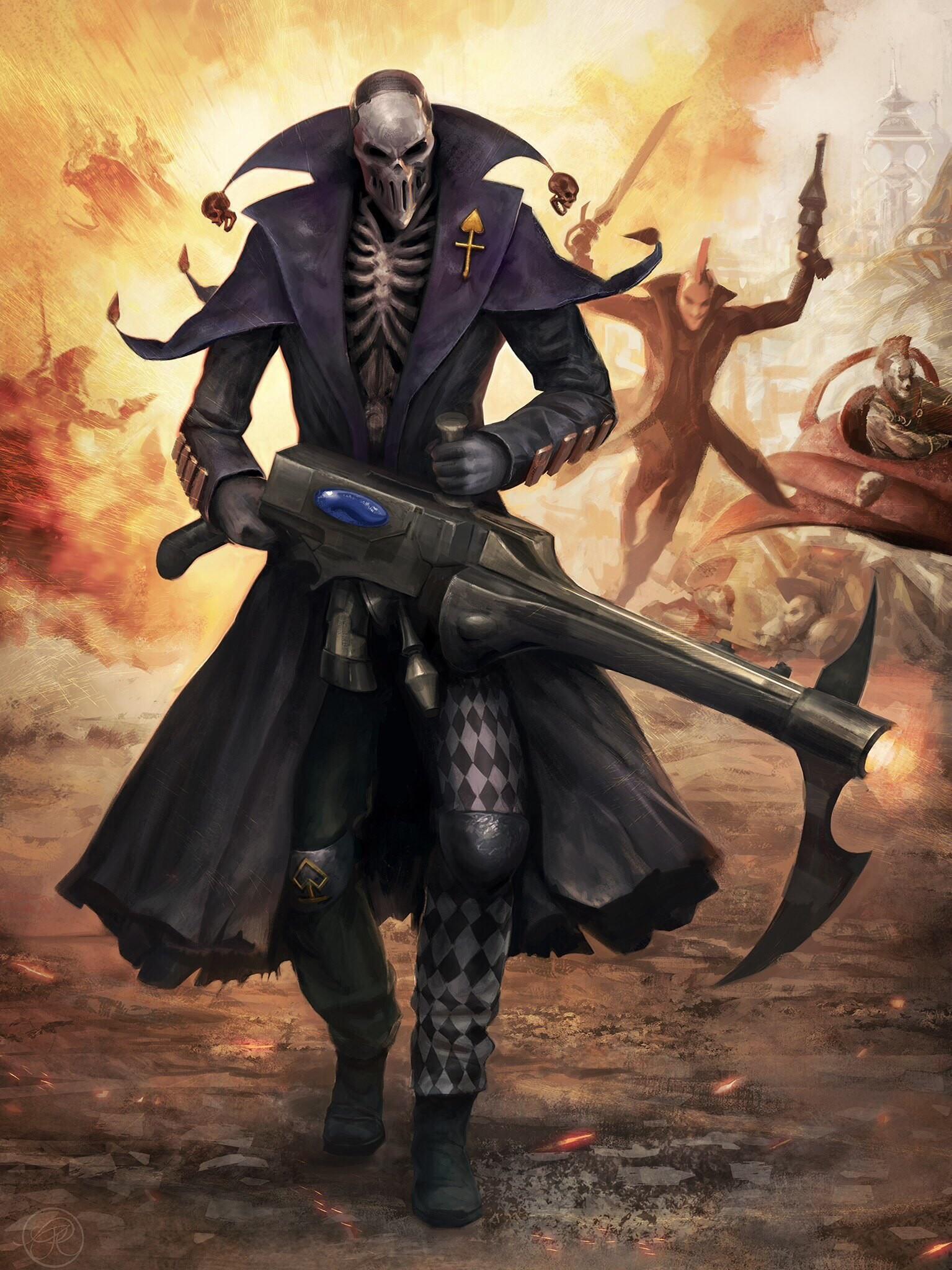 deathjester eldar harlequin