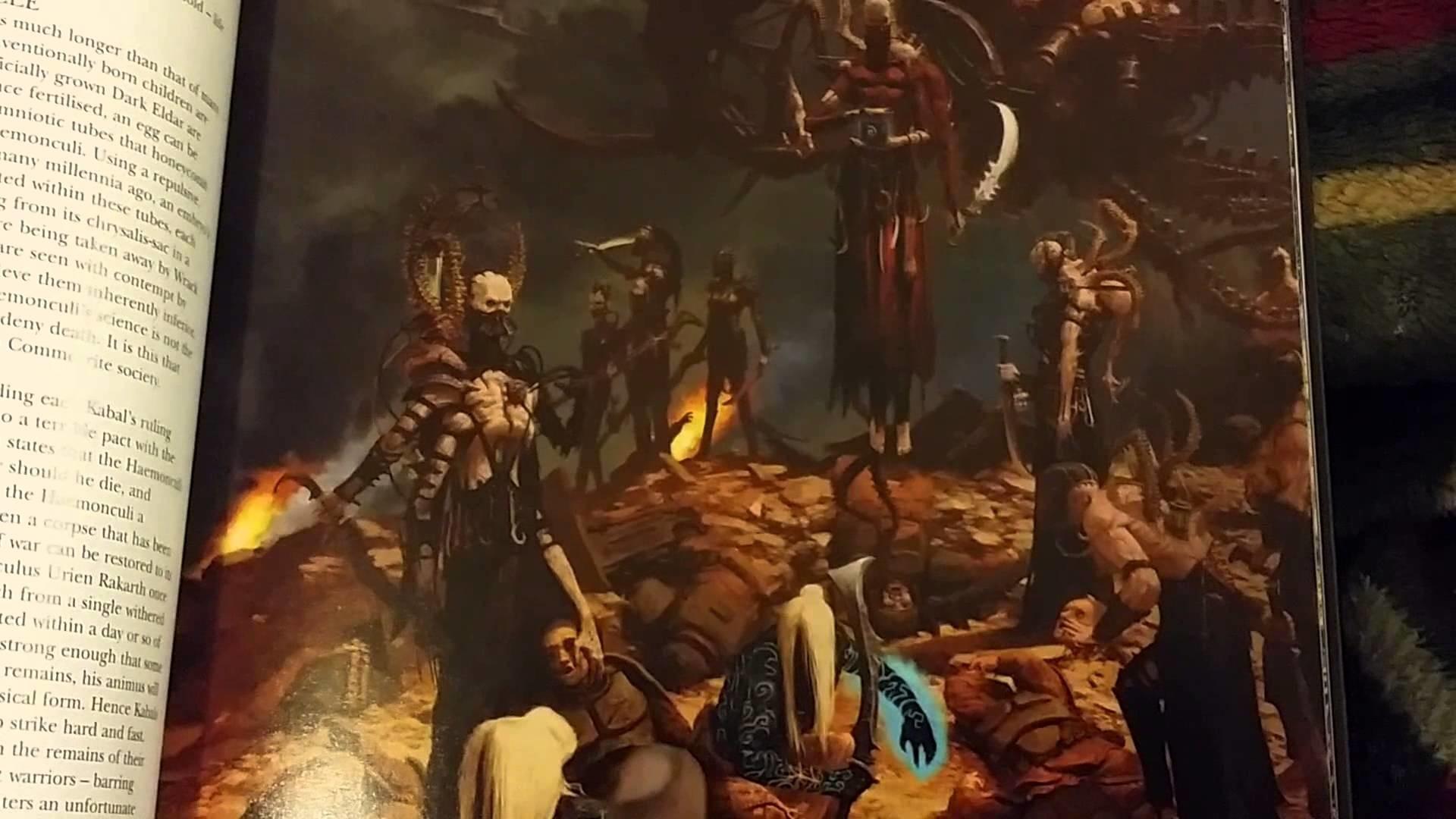 Dark Eldar 7th Edition Codex Impressions
