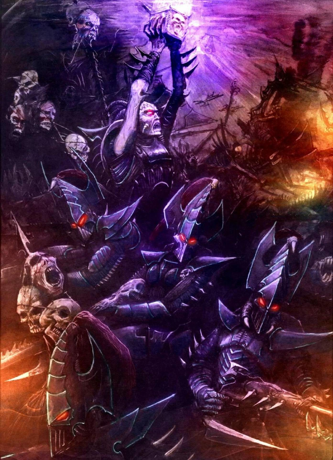Warsmith Housou from the Iron Warriors Dark Eldar