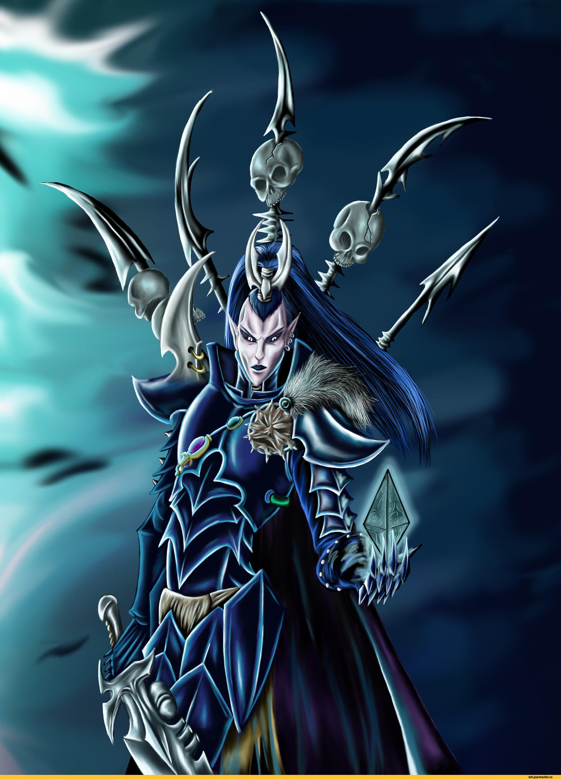 dark eldar,warhammer 40000,фэндомы,Archon (WH 40000)