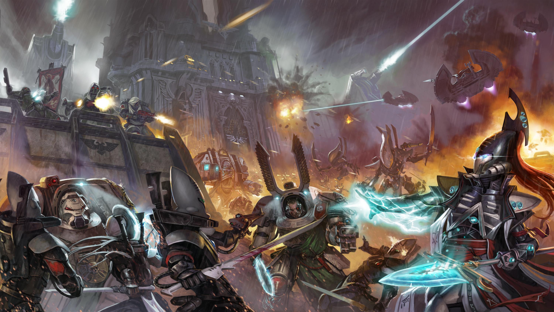 Warhammer 40,000 Art Dump