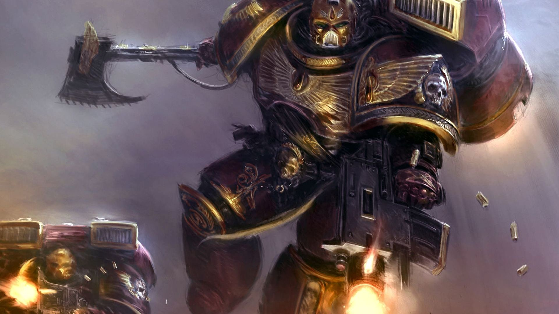 So you want to play Warhammer 40k? Pick an army!