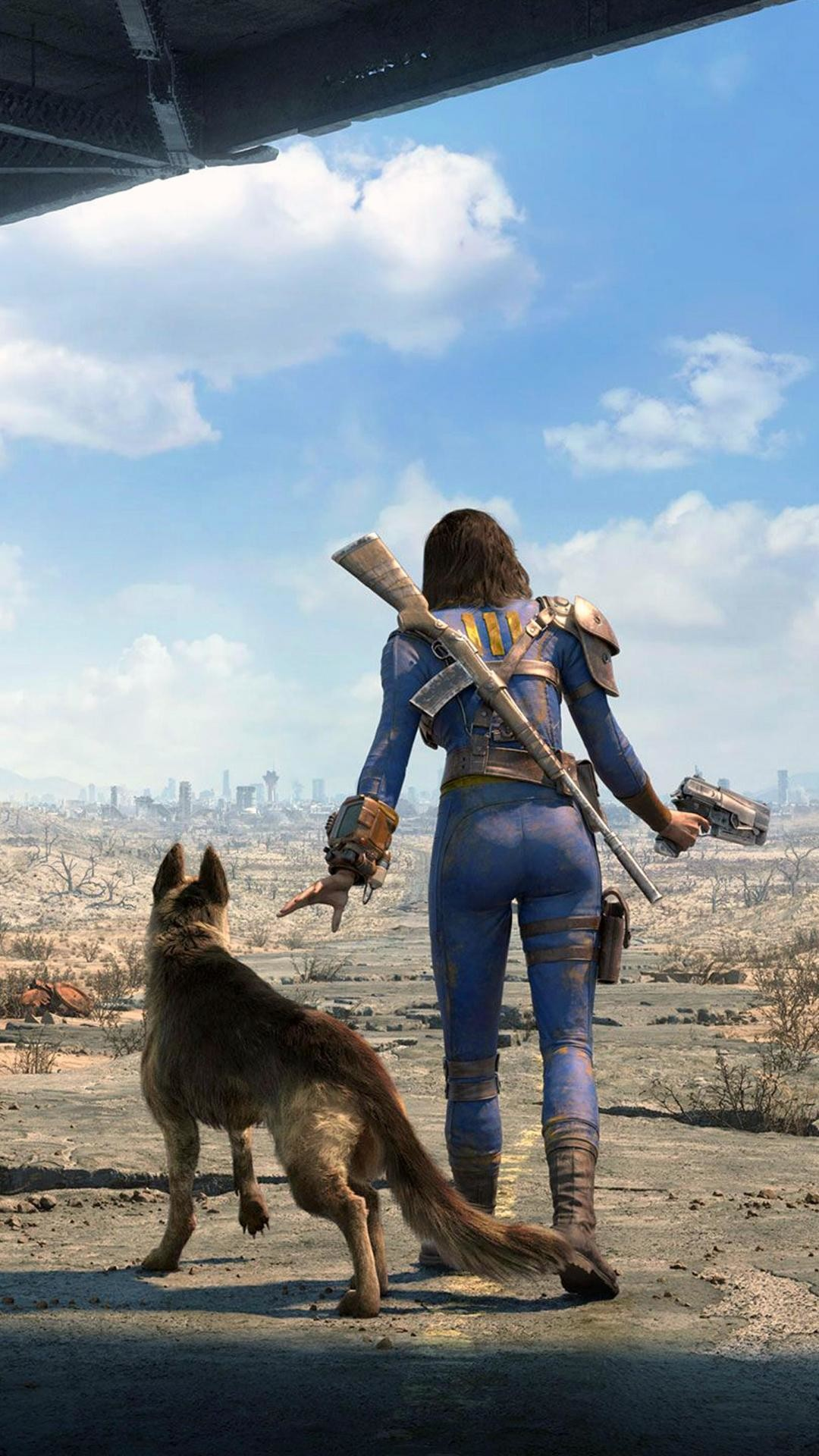 Awesome fallout 4 wallpaper for iPhone 6 plus