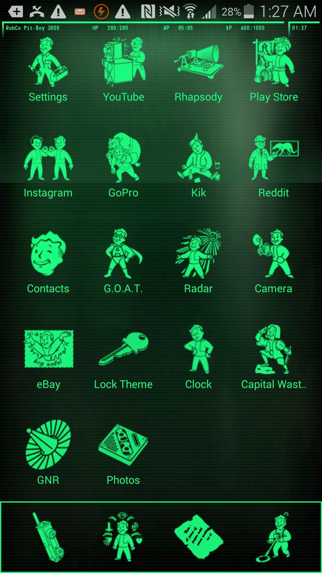 Pip-Boy 3000 Live Wallpaper – Android Apps on Google Play