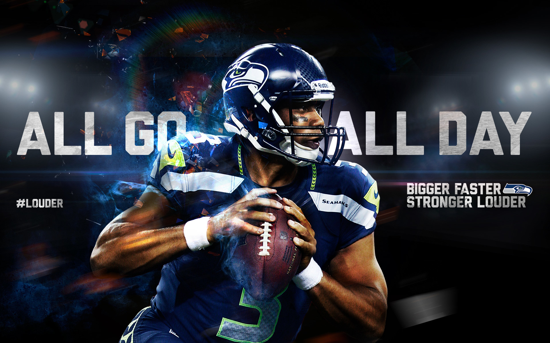 Seattle Seahawks – NFL Background :: Full (1080p) & Ultra .