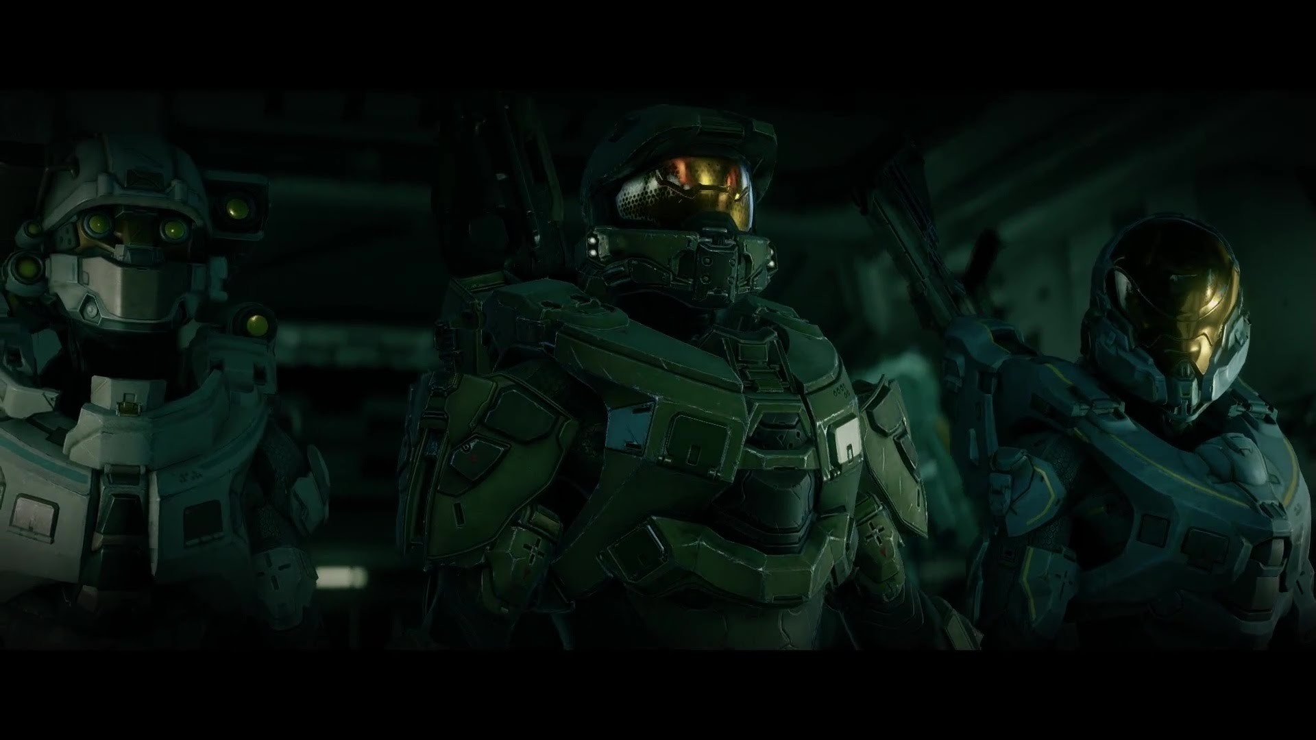 Halo 5: Guardians – Blue Team Opening Gameplay Movie [1080p 60FPS HD]