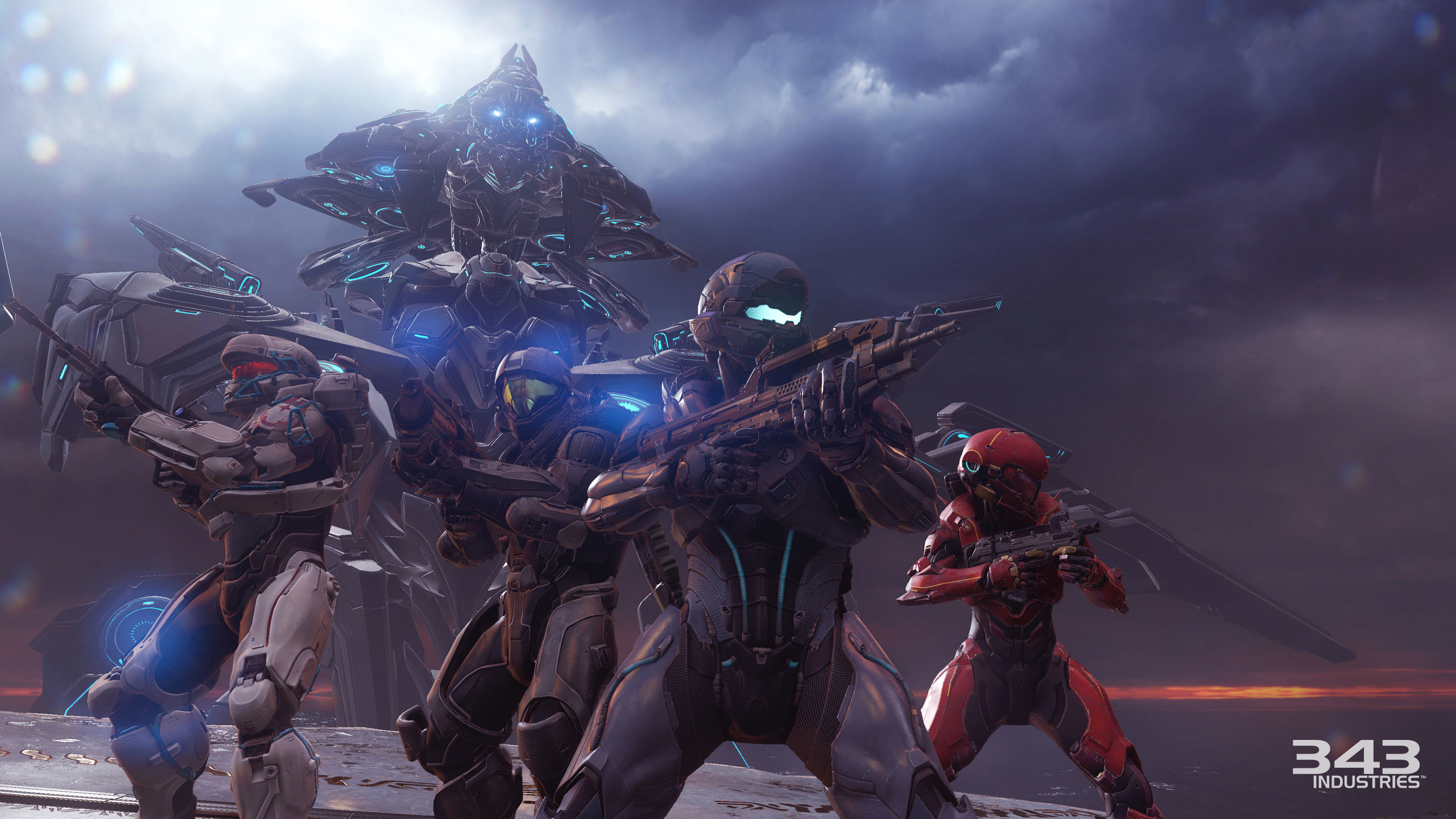 … AI adversaries, massive environments, and maps that are four times the  size of your average Halo map. It will launch alongside Halo 5: Guardian's  …