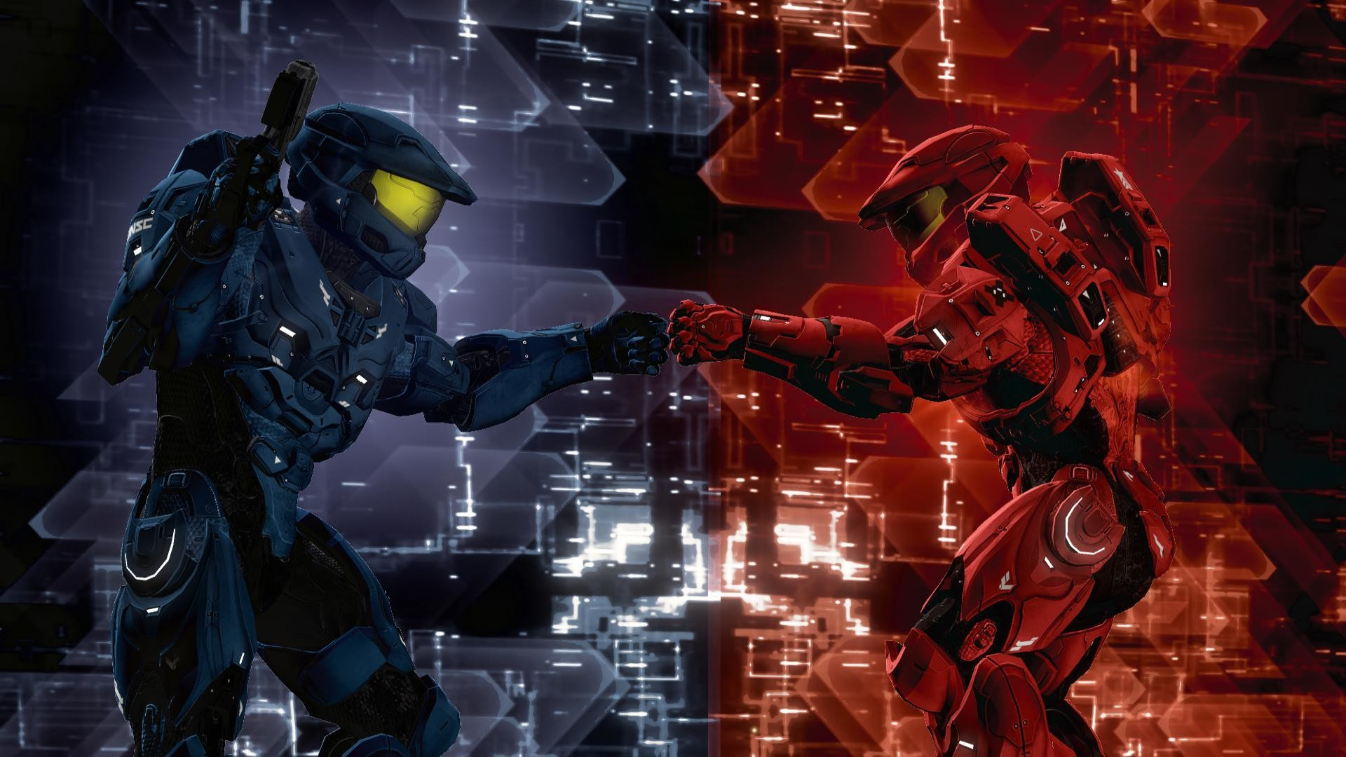 High Resolution Best Game Red vs Blue Wallpaper HD 3 Full Size …    Download Wallpaper   Pinterest   Red vs blue, Blue wallpapers and 3d  wallpaper