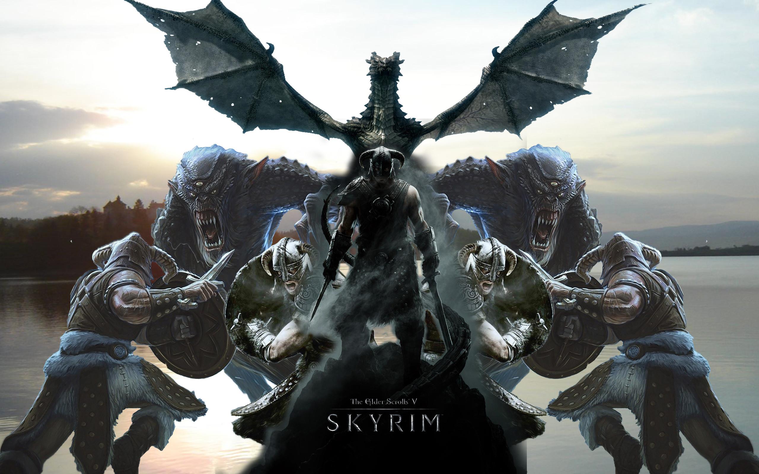 The Elder Scrolls V: Skyrim wallpaper fan made » The Elder Scrolls .